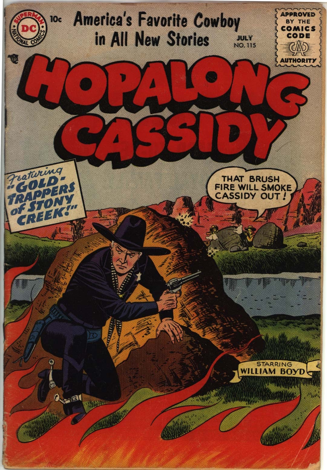 Hopalong Cassidy issue 115 - Page 1