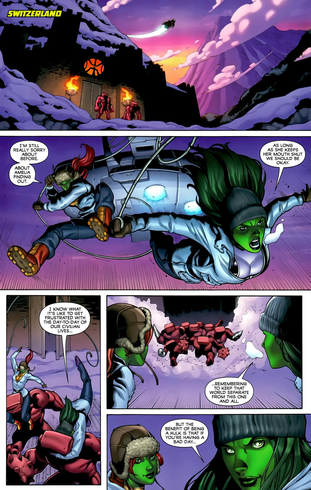 Read online She-Hulks comic -  Issue #3 - 18
