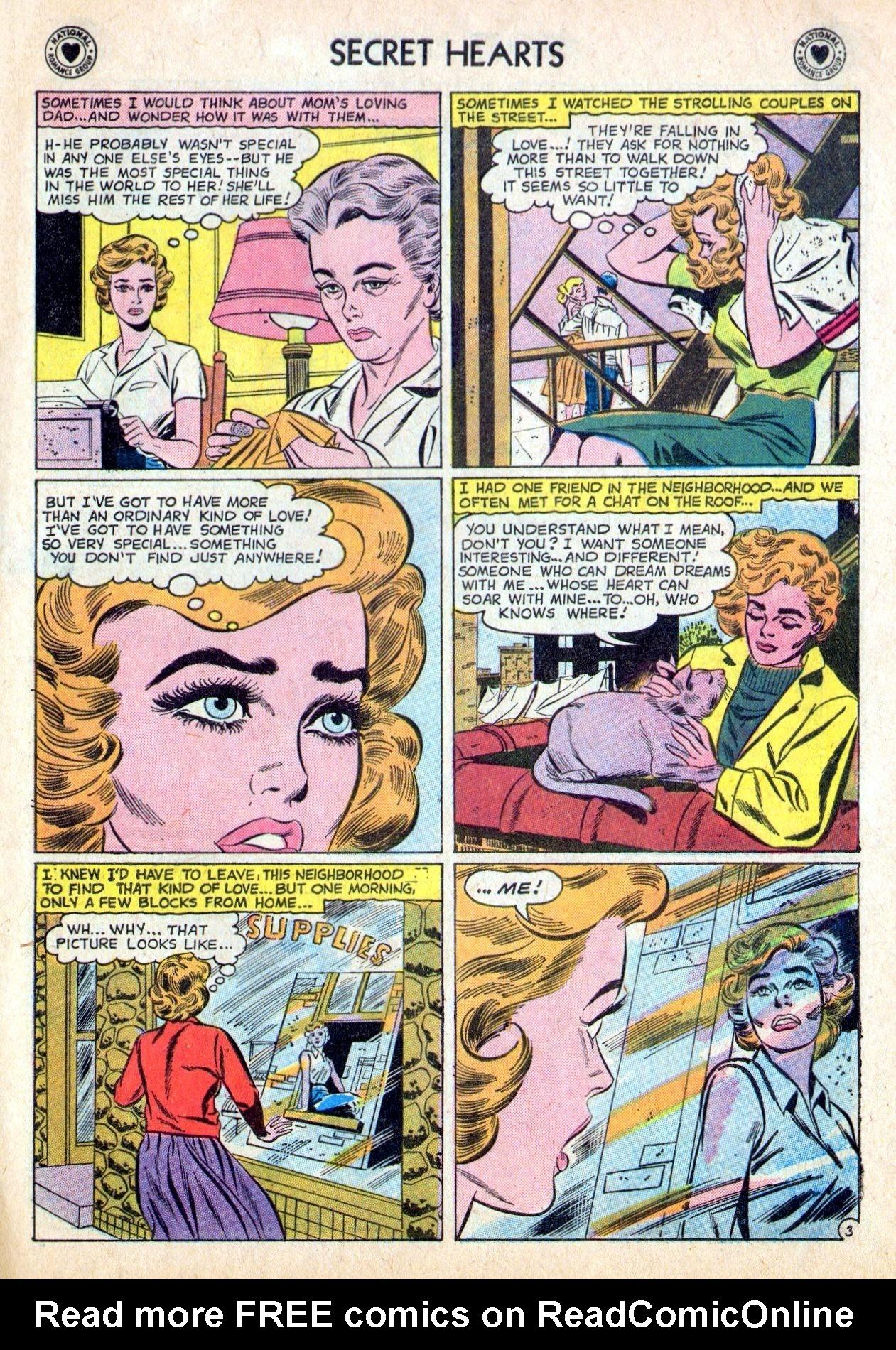 Read online Secret Hearts comic -  Issue #53 - 5