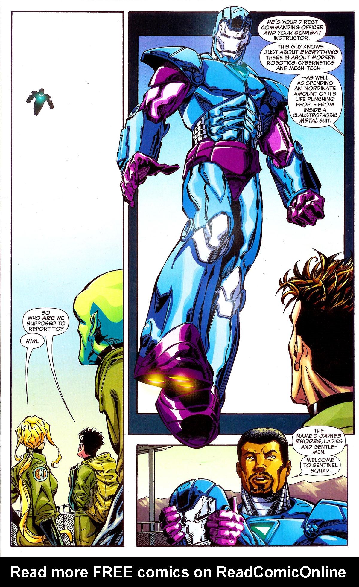 Read online Sentinel Squad O*N*E comic -  Issue #1 - 12