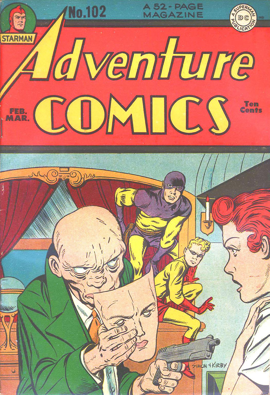 Read online Adventure Comics (1938) comic -  Issue #102 - 1
