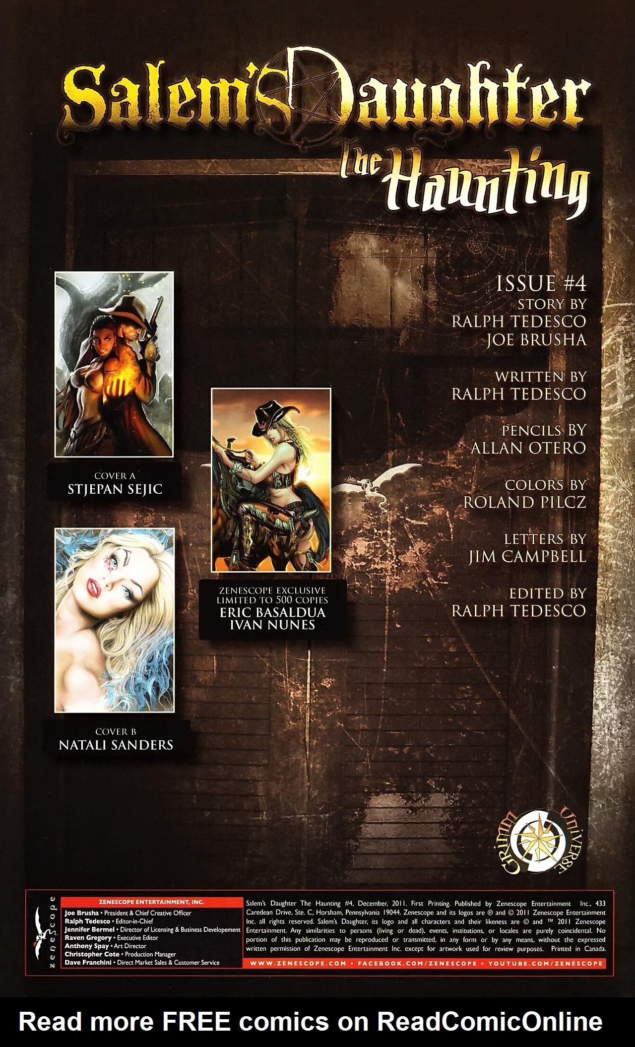 Read online Salem's Daughter: The Haunting comic -  Issue #4 - 3