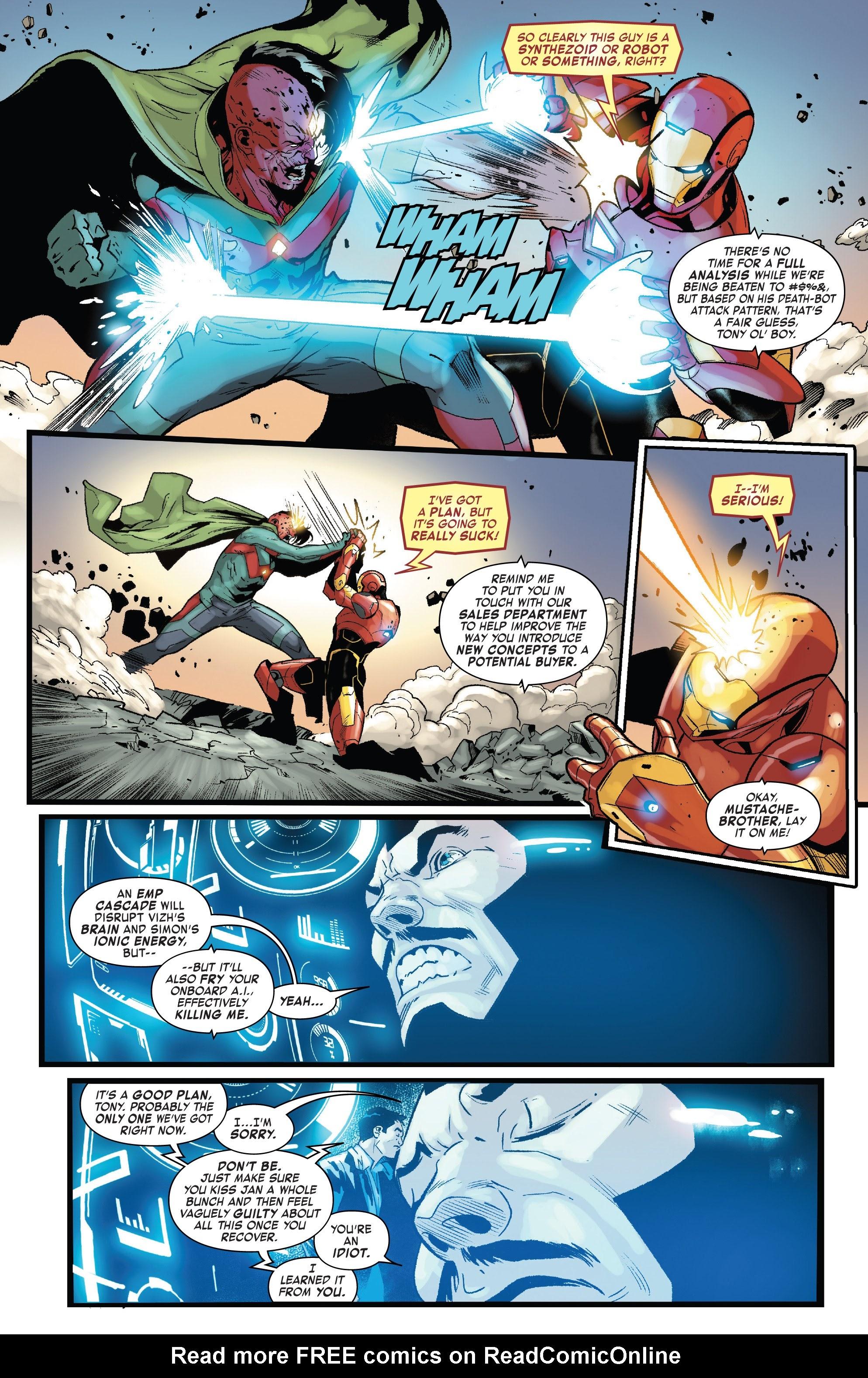 Read online Tony Stark: Iron Man comic -  Issue #15 - 18