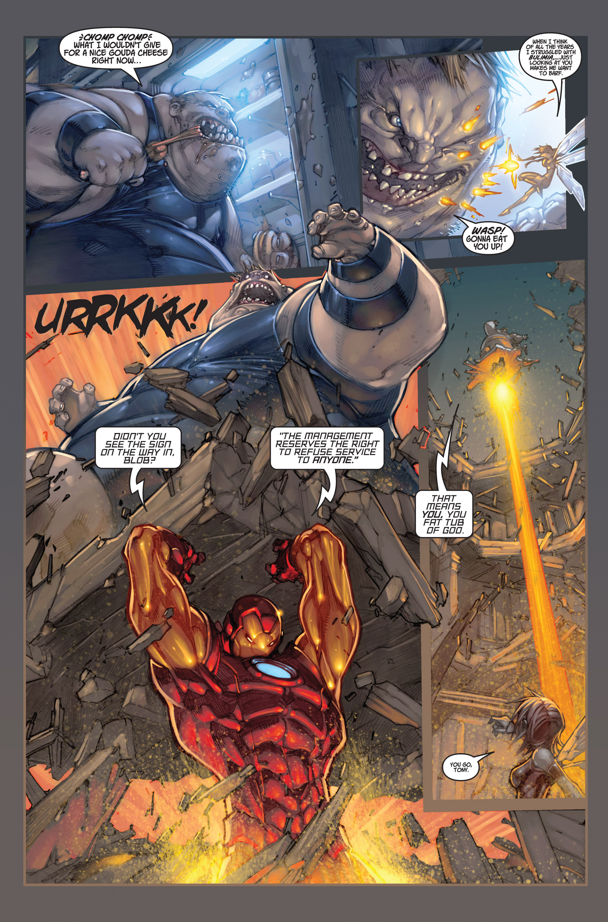 Read online Ultimates 3 comic -  Issue #2 - 17