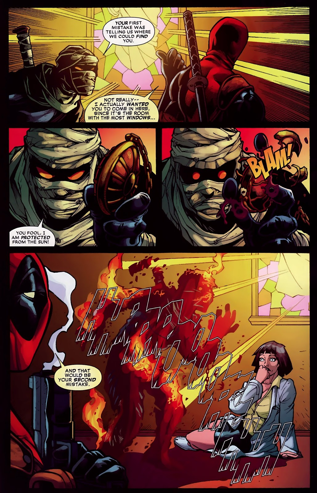 Read online Deadpool (2008) comic -  Issue #30 - 21