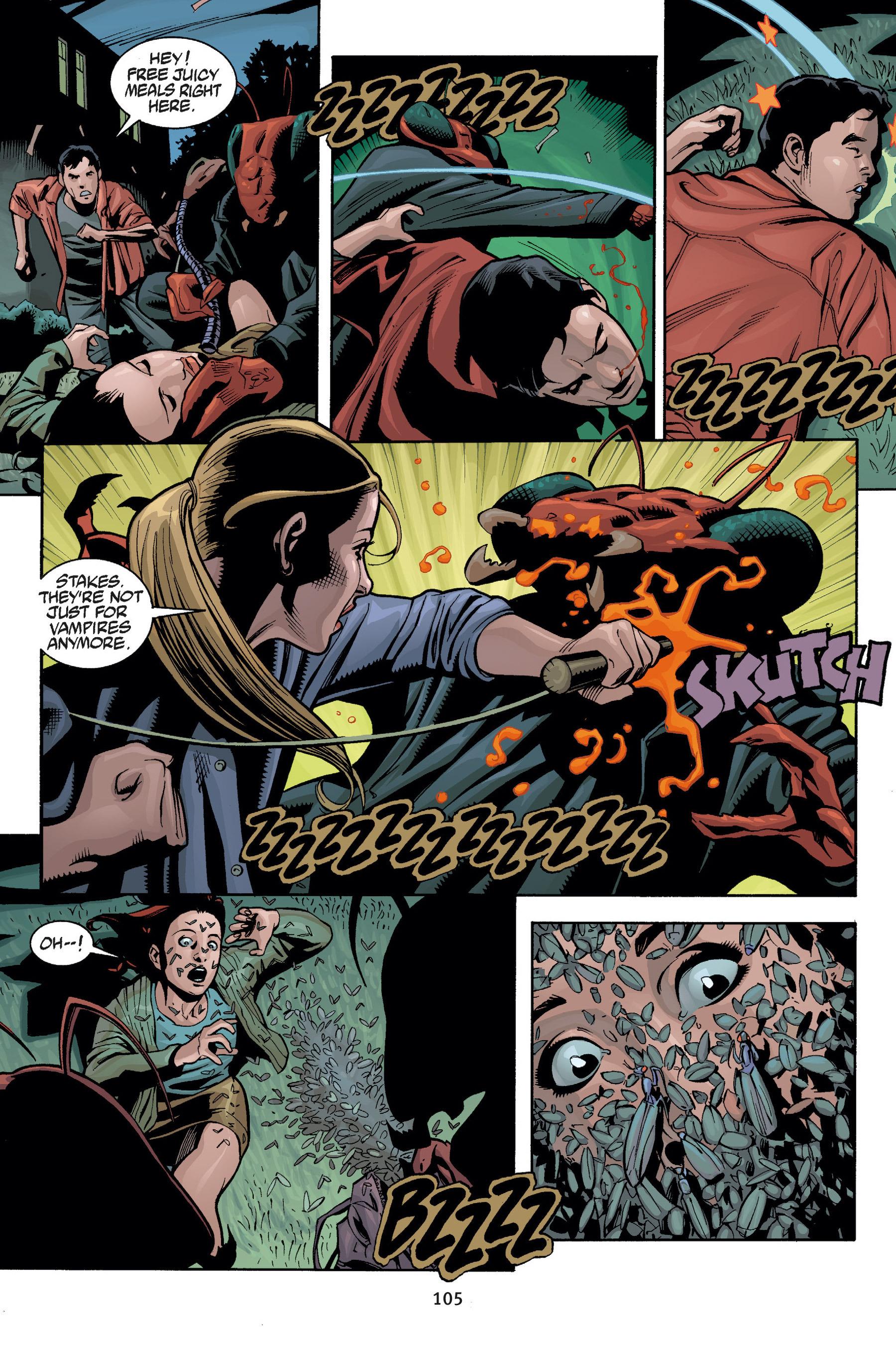 Read online Buffy the Vampire Slayer: Omnibus comic -  Issue # TPB 5 - 106