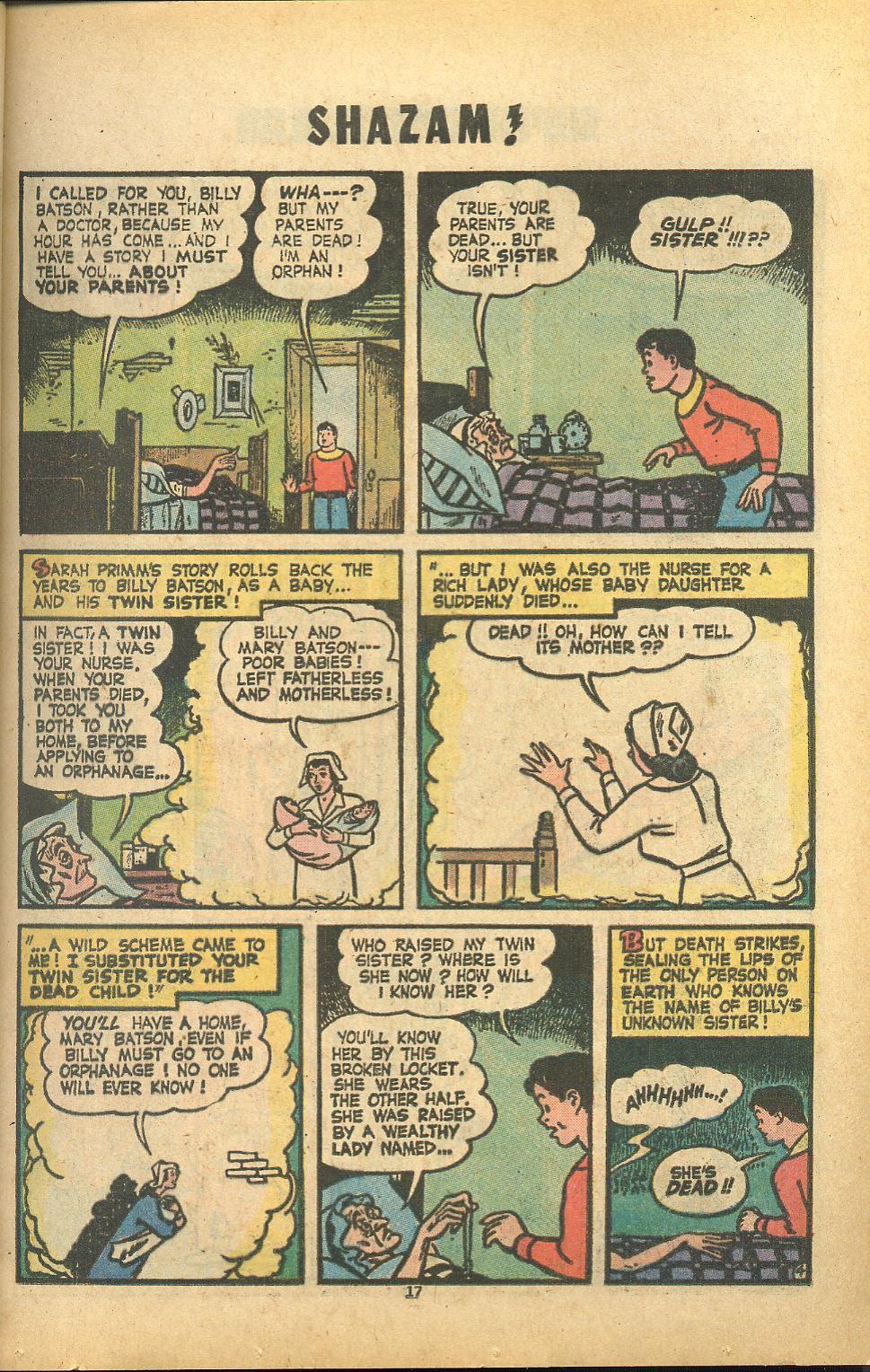 Read online Shazam! (1973) comic -  Issue #8 - 17