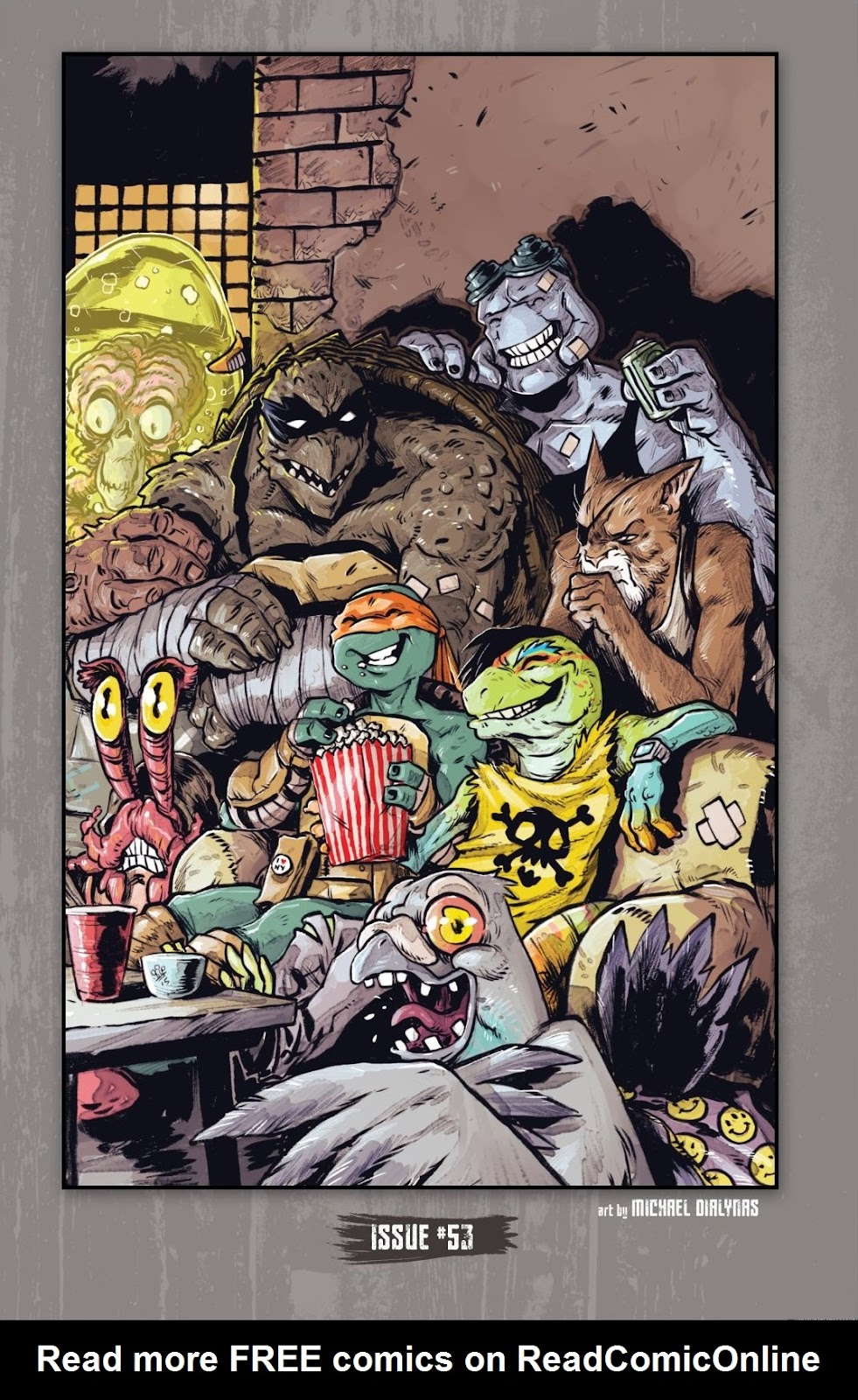 Read online Teenage Mutant Ninja Turtles: The IDW Collection comic -  Issue # TPB 7 (Part 1) - 53