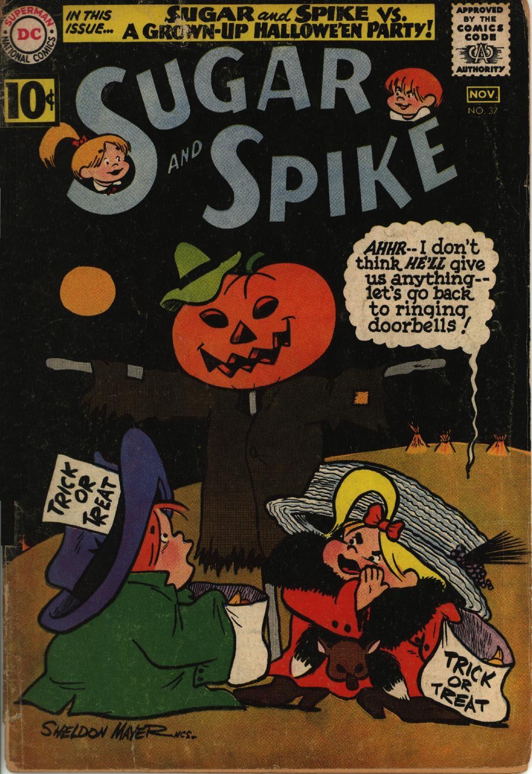 Sugar and Spike 37 Page 1