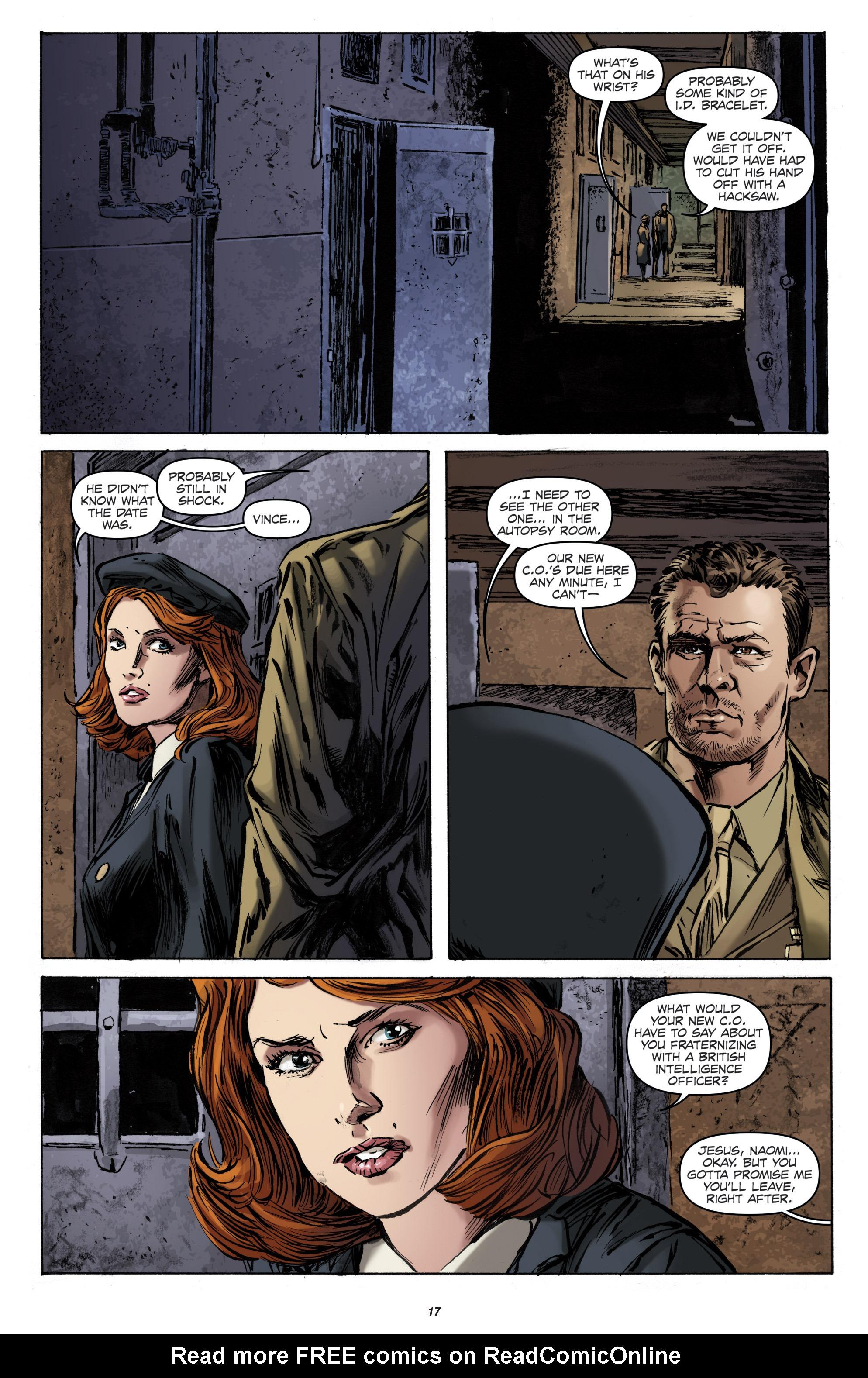 Read online Archangel (2016) comic -  Issue #1 - 19