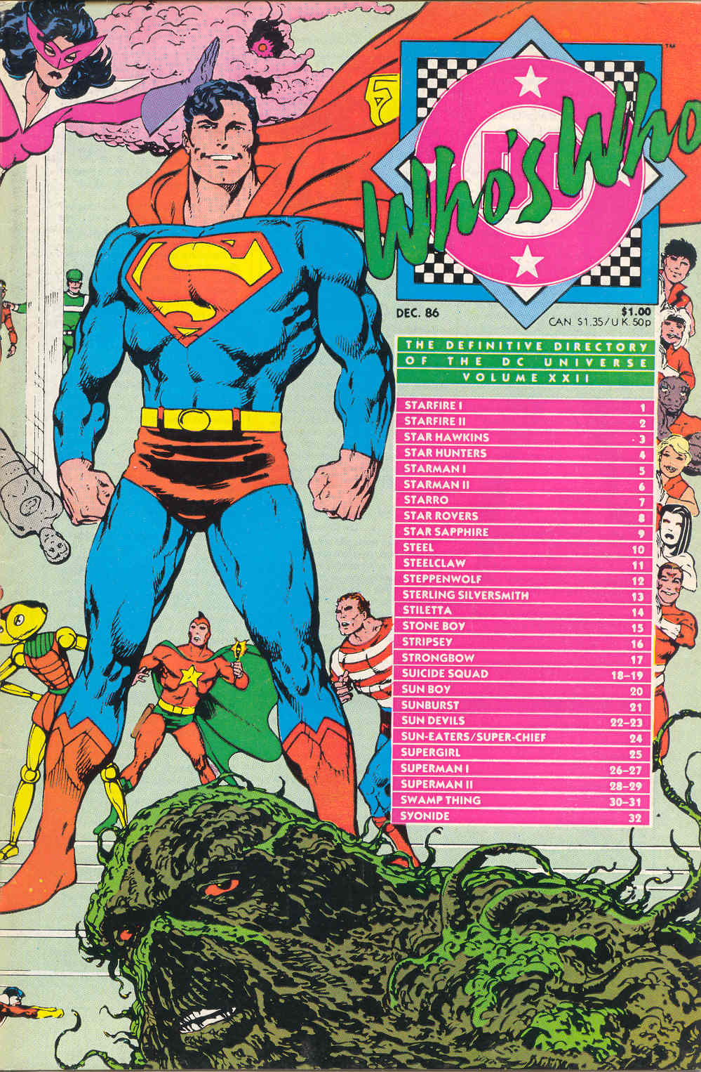 Whos Who: The Definitive Directory of the DC Universe 22 Page 1