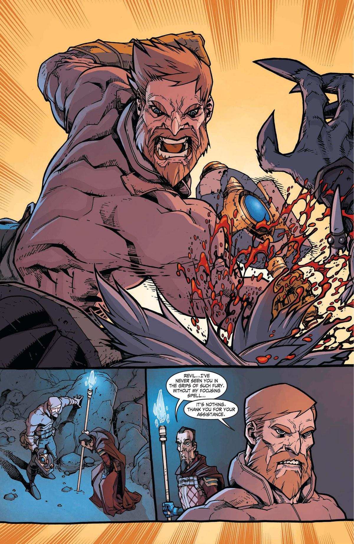 Read online World of Warcraft: Dark Riders comic -  Issue # Full - 73