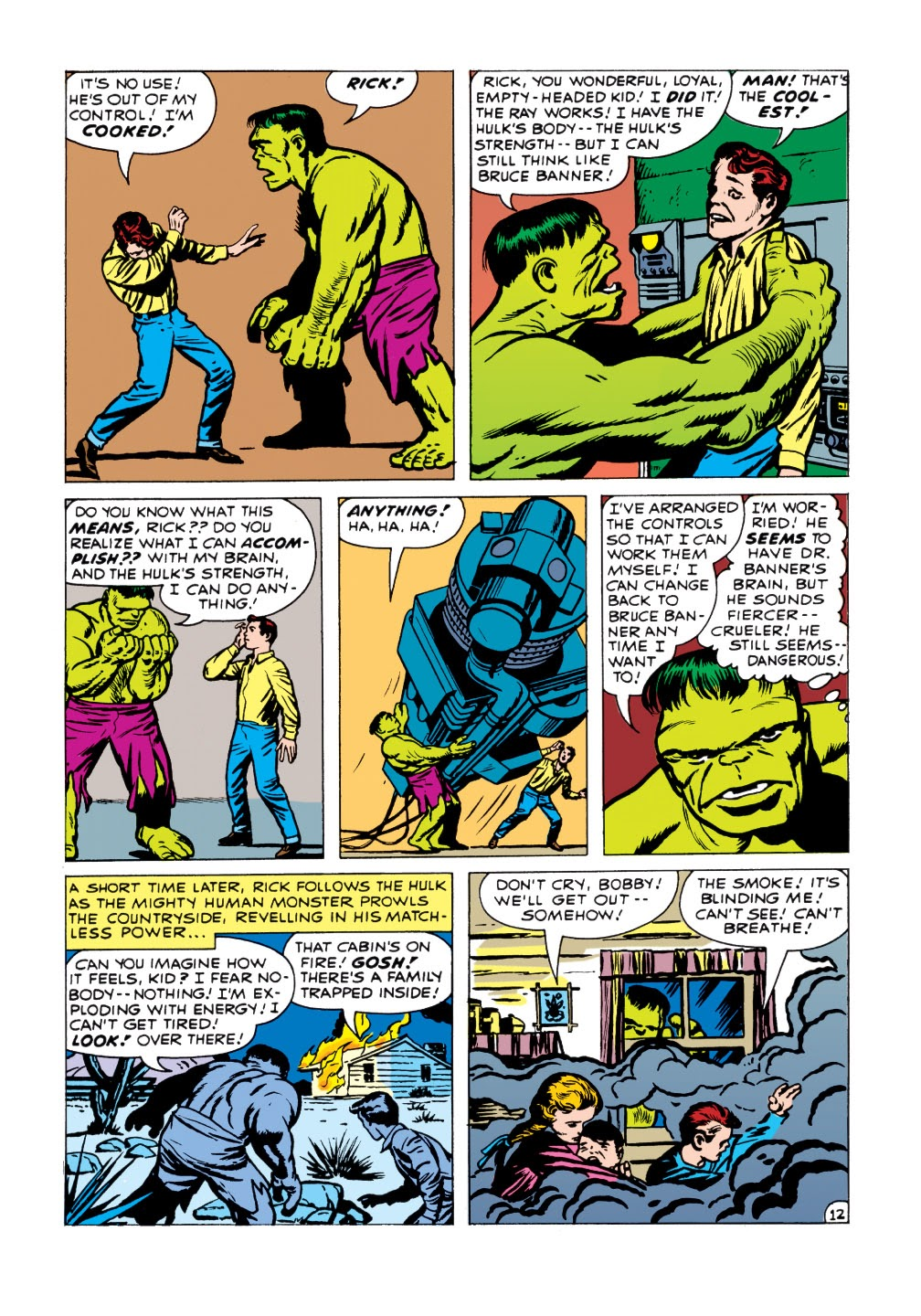 Read online Marvel Masterworks: The Incredible Hulk comic -  Issue # TPB 1 (Part 1) - 90