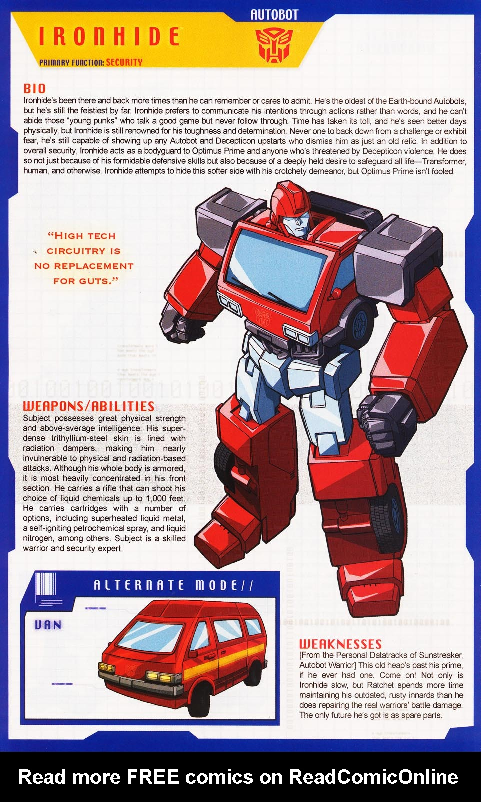 Read online Transformers: More than Meets the Eye comic -  Issue #3 - 48