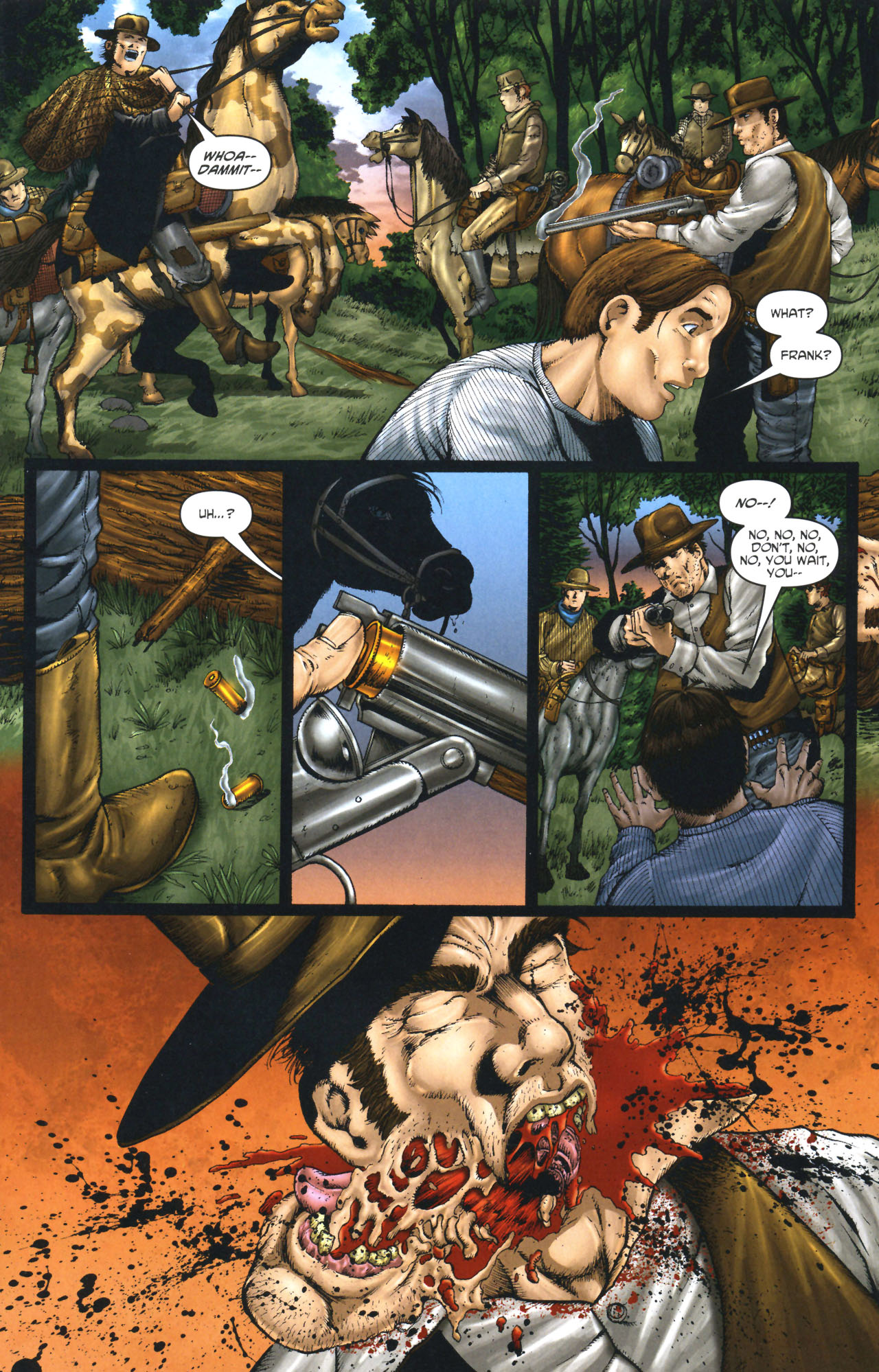 Read online Garth Ennis' Streets of Glory comic -  Issue #1 - 11