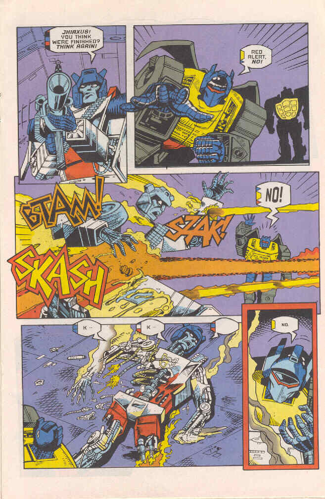 Read online Transformers: Generation 2 comic -  Issue #4 - 12