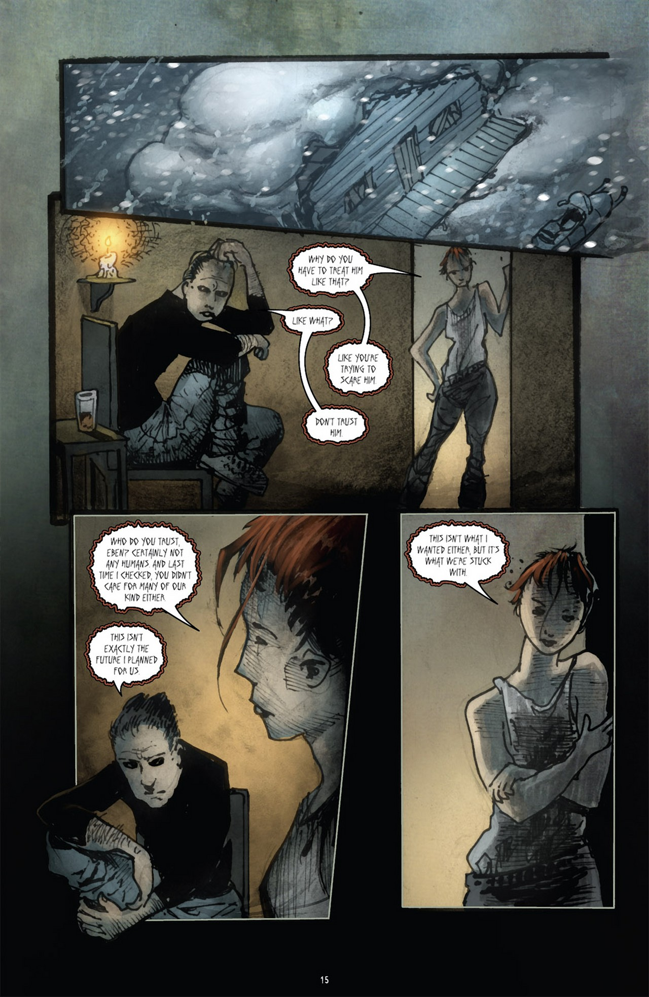 Read online 30 Days of Night (2011) comic -  Issue #3 - 19