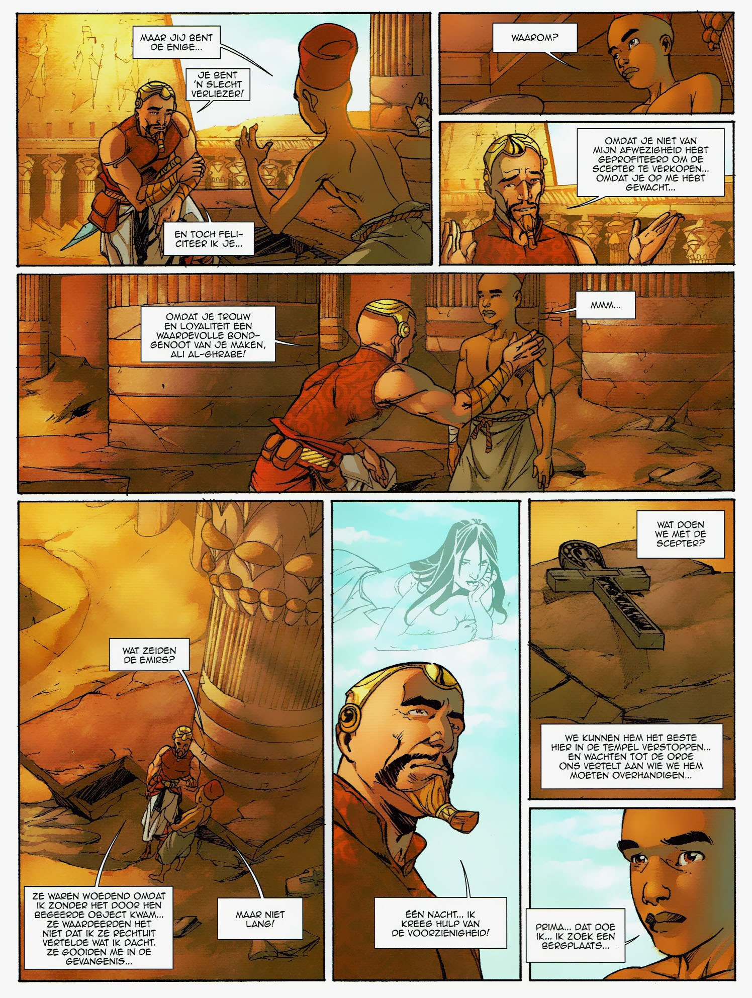 Read online Assassin's Creed (2009) comic -  Issue #6 - 23