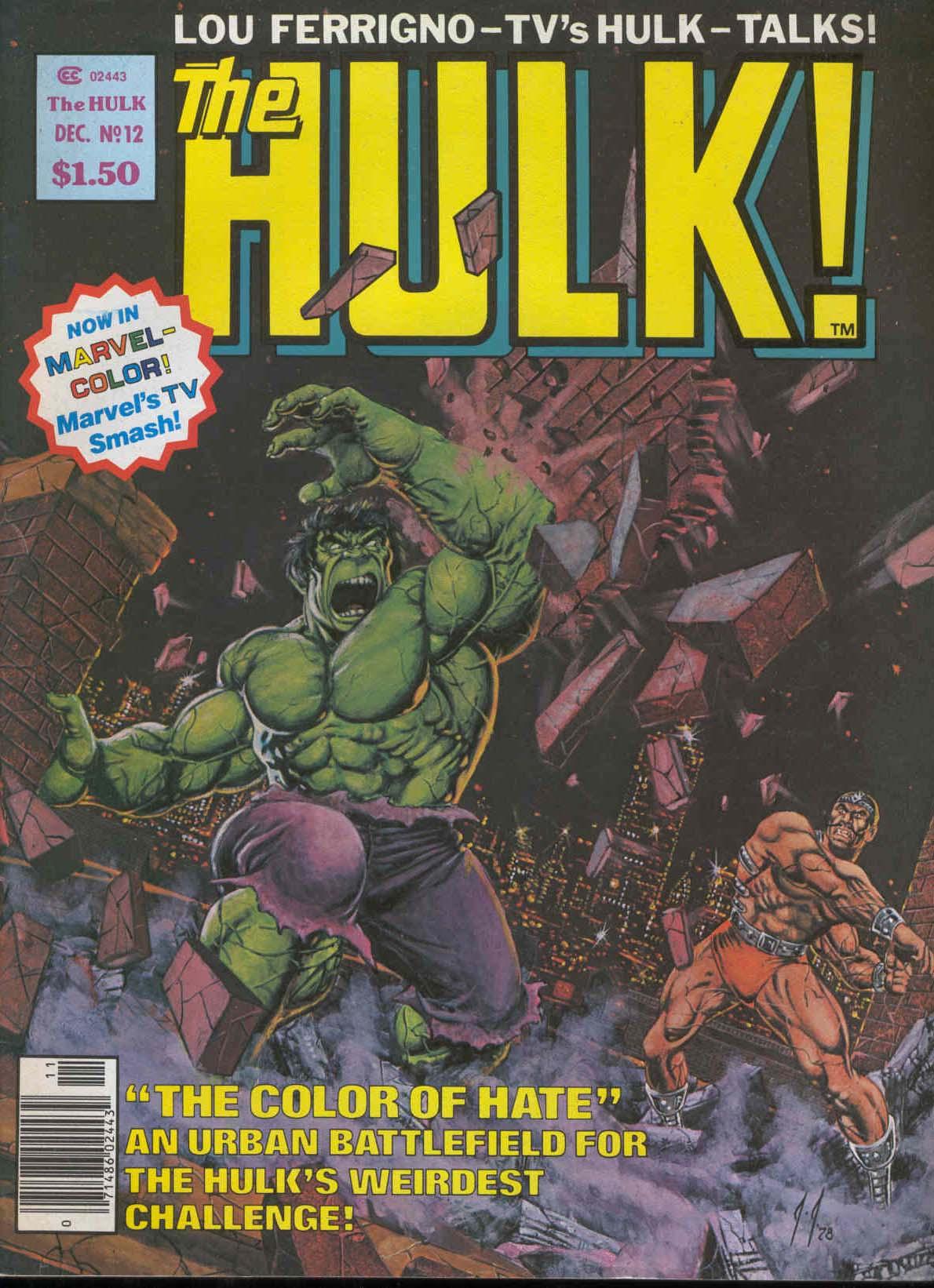 Hulk (1978) 12 Page 1
