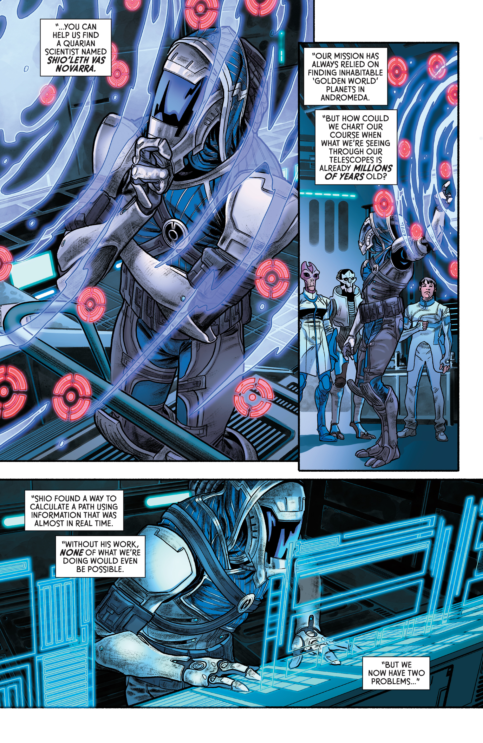 Read online Mass Effect: Discovery comic -  Issue #1 - 19