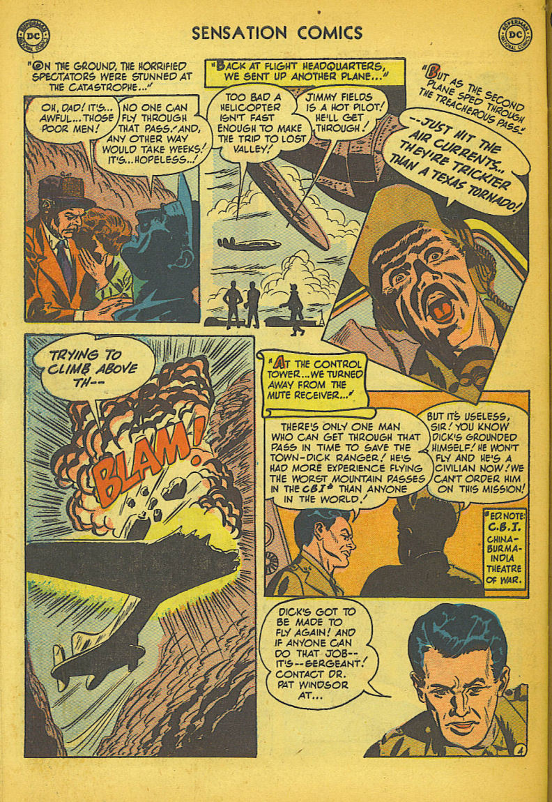 Read online Sensation (Mystery) Comics comic -  Issue #104 - 44