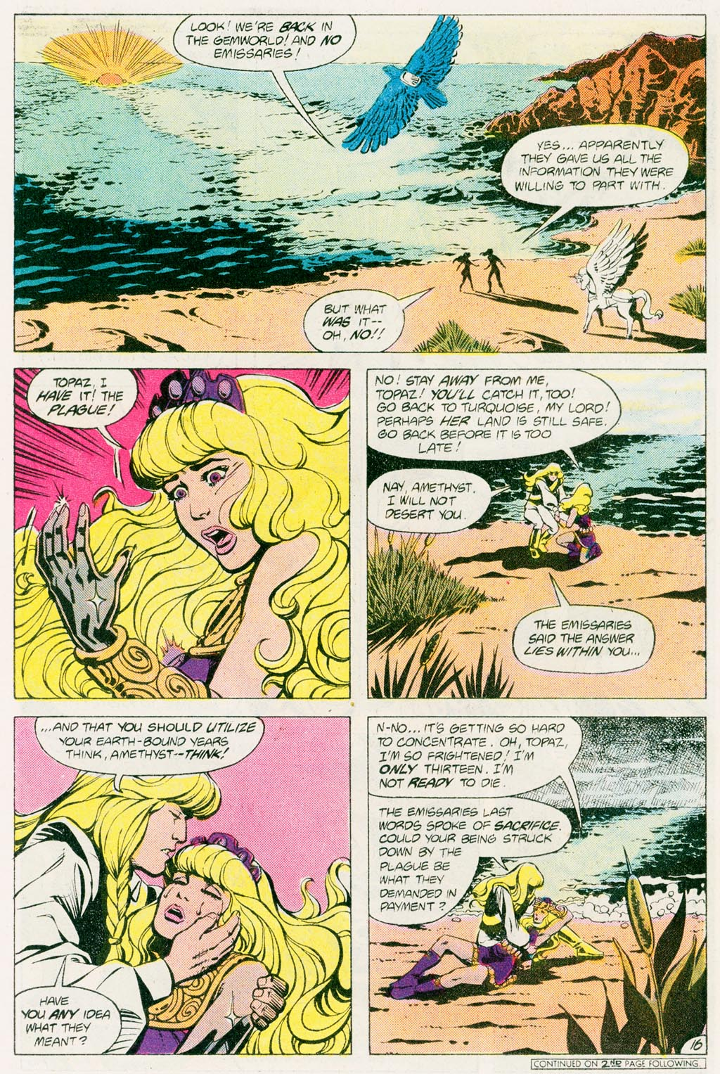 Read online Amethyst (1985) comic -  Issue #12 - 21