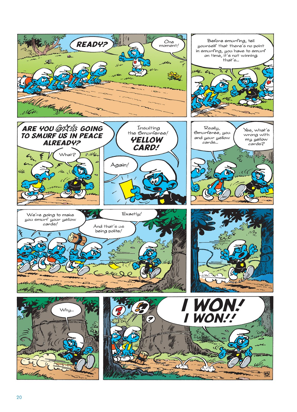 Read online The Smurfs comic -  Issue #11 - 20
