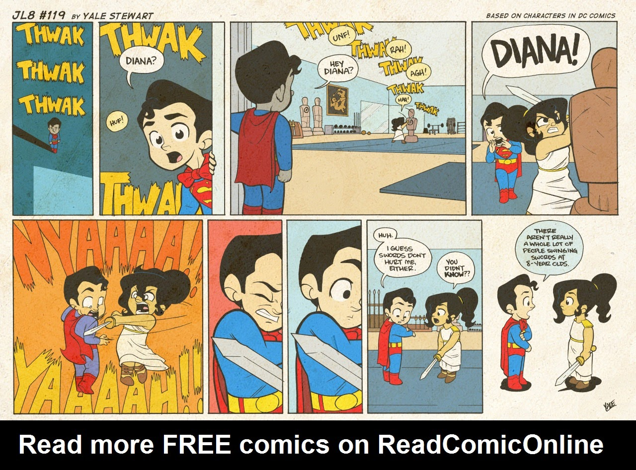 Read online JL8 – The Complete Collection comic -  Issue # TPB (Part 1) - 61