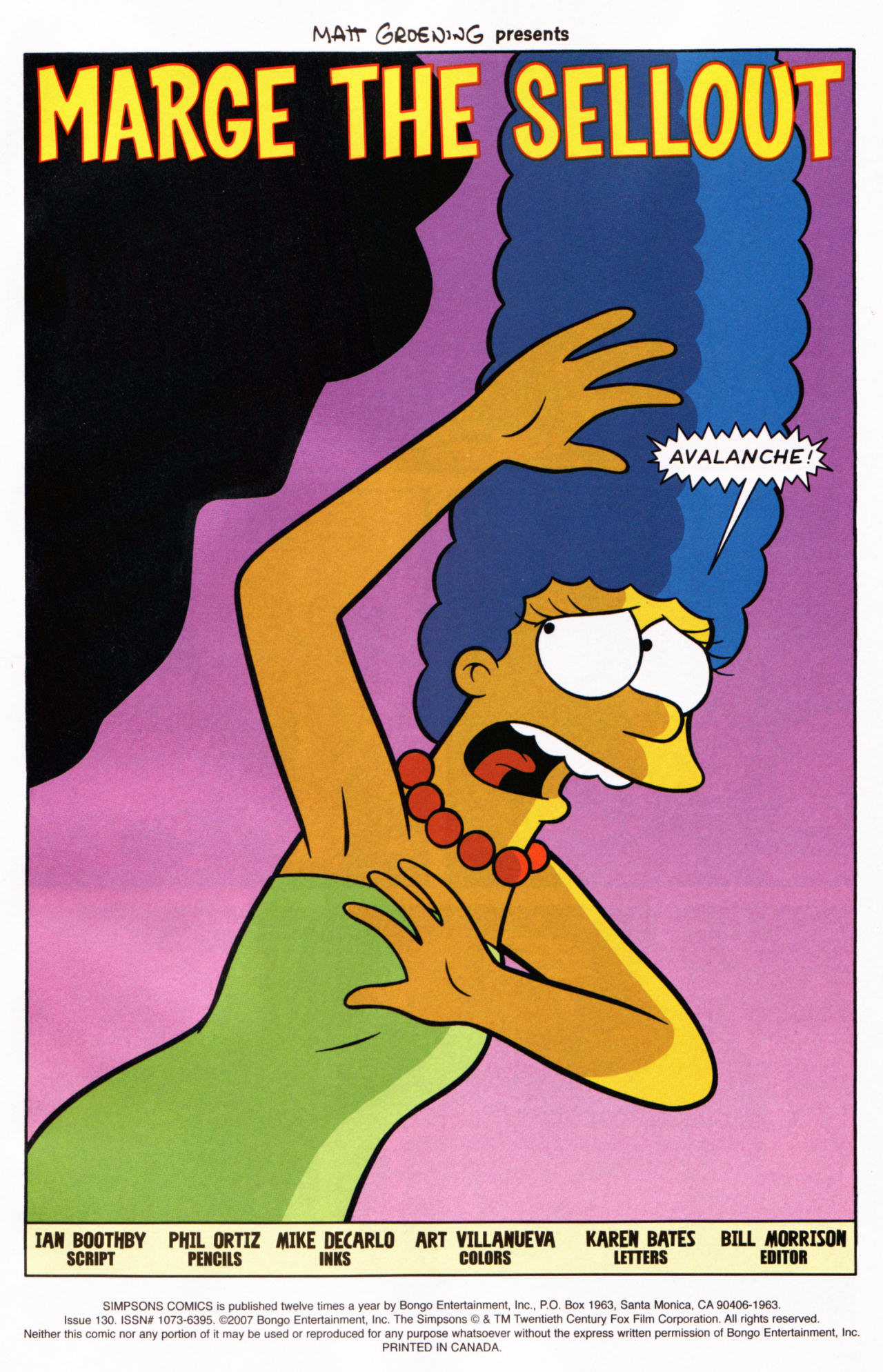 Read online Simpsons Comics comic -  Issue #130 - 2