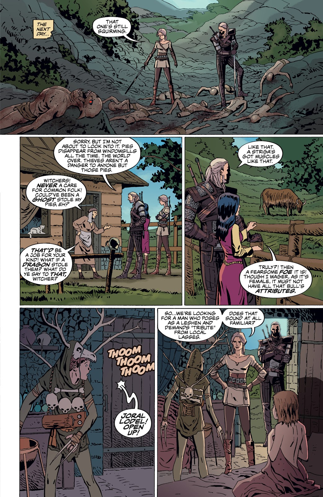 Read online The Witcher Omnibus comic -  Issue # TPB (Part 4) - 16