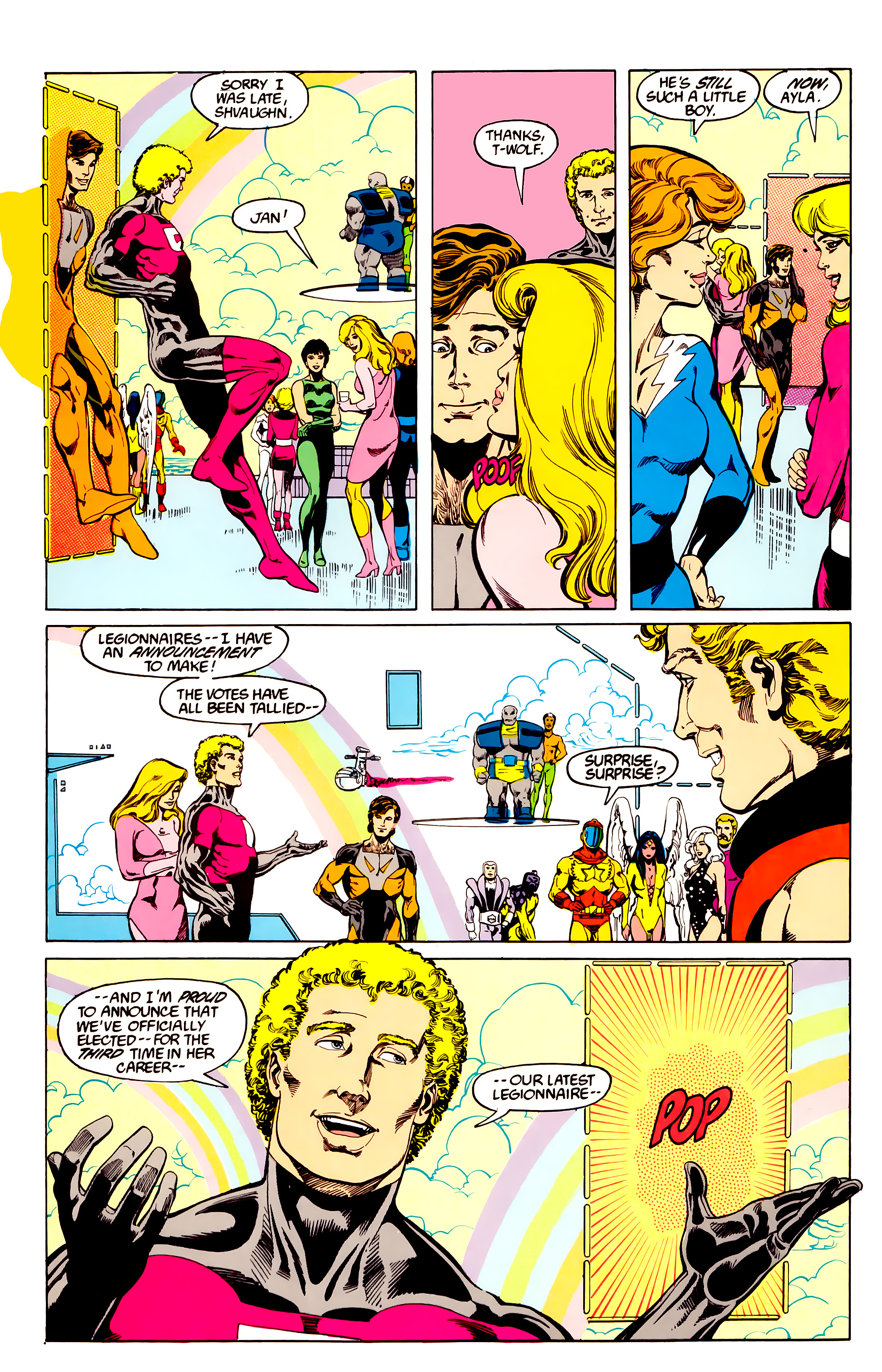 Legion of Super-Heroes (1984) 27 Page 28