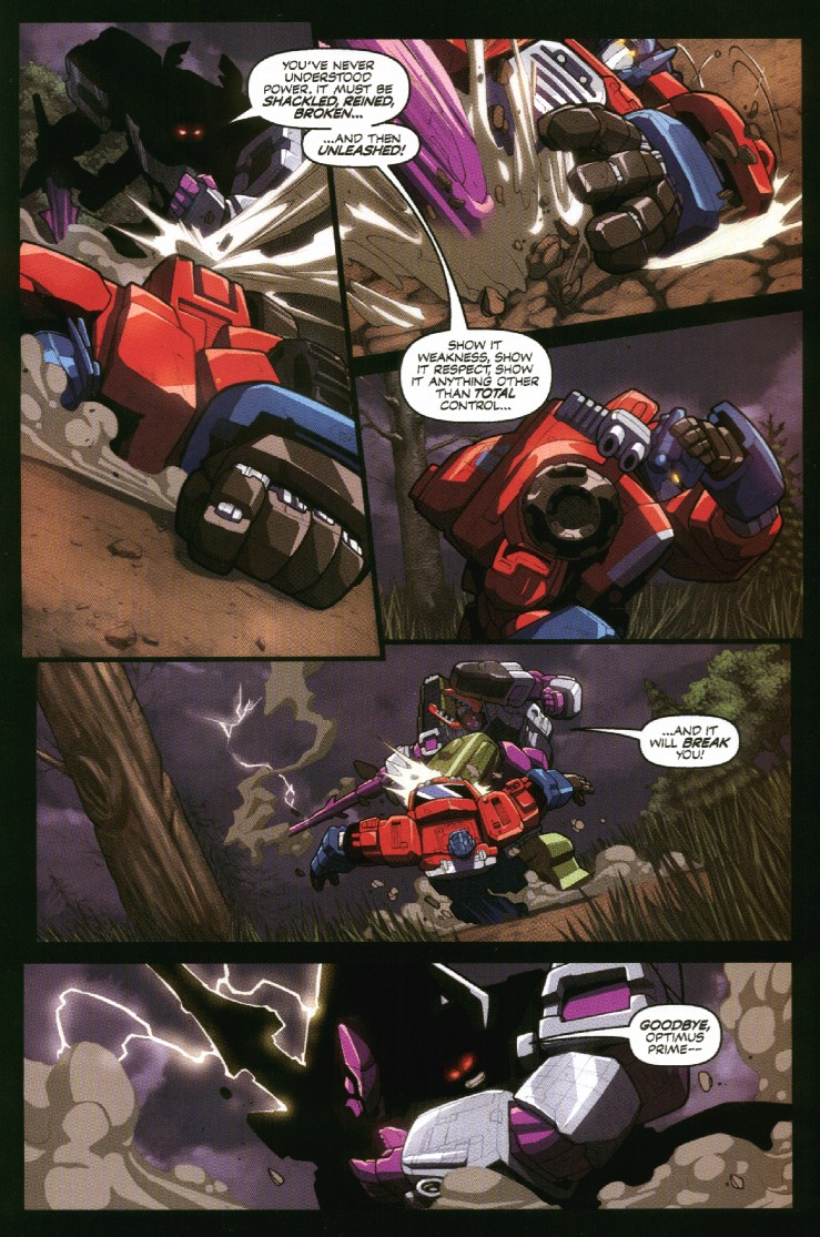 Read online Transformers Armada comic -  Issue #7 - 21