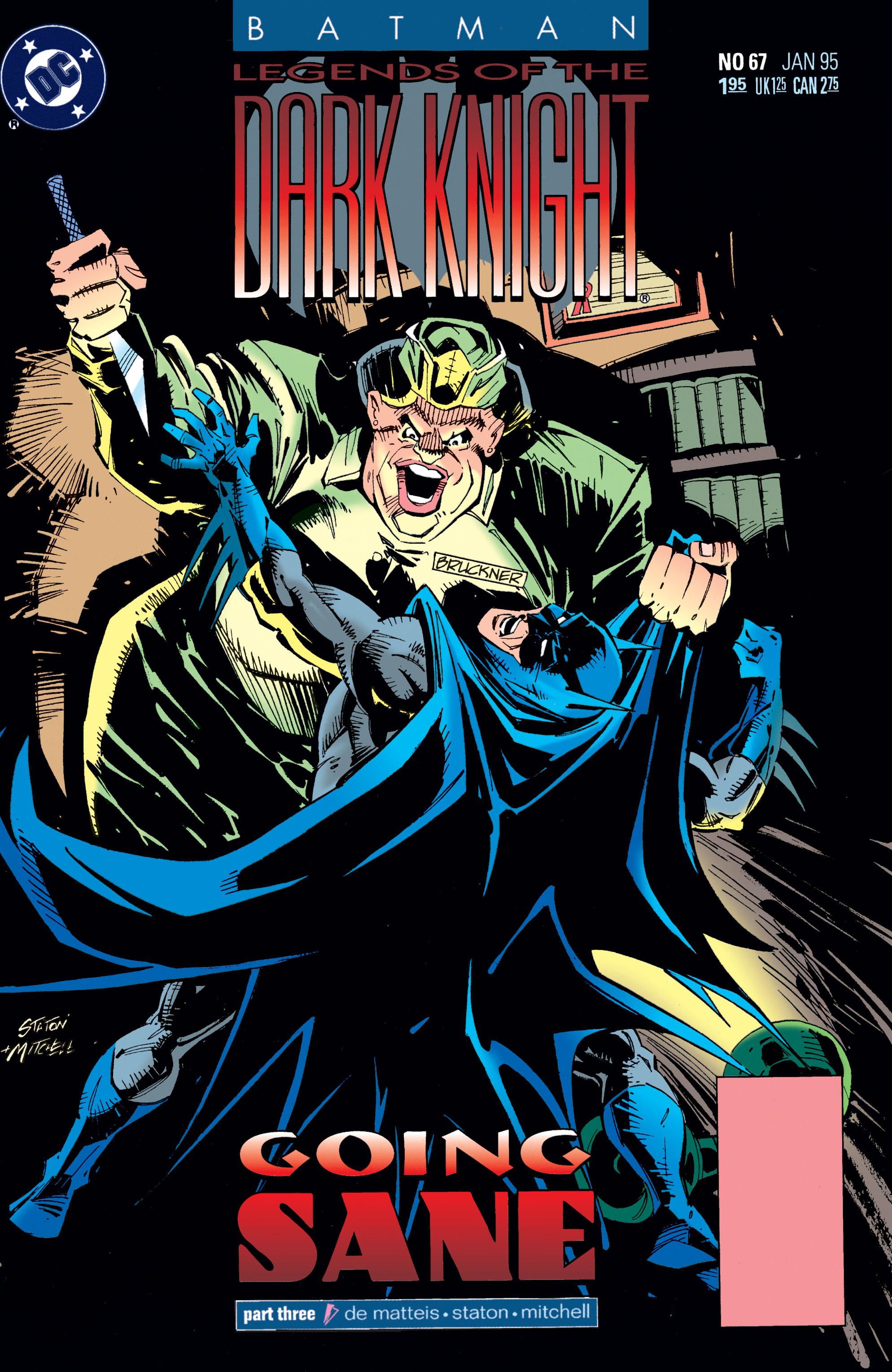 Batman: Legends of the Dark Knight 67 Page 1