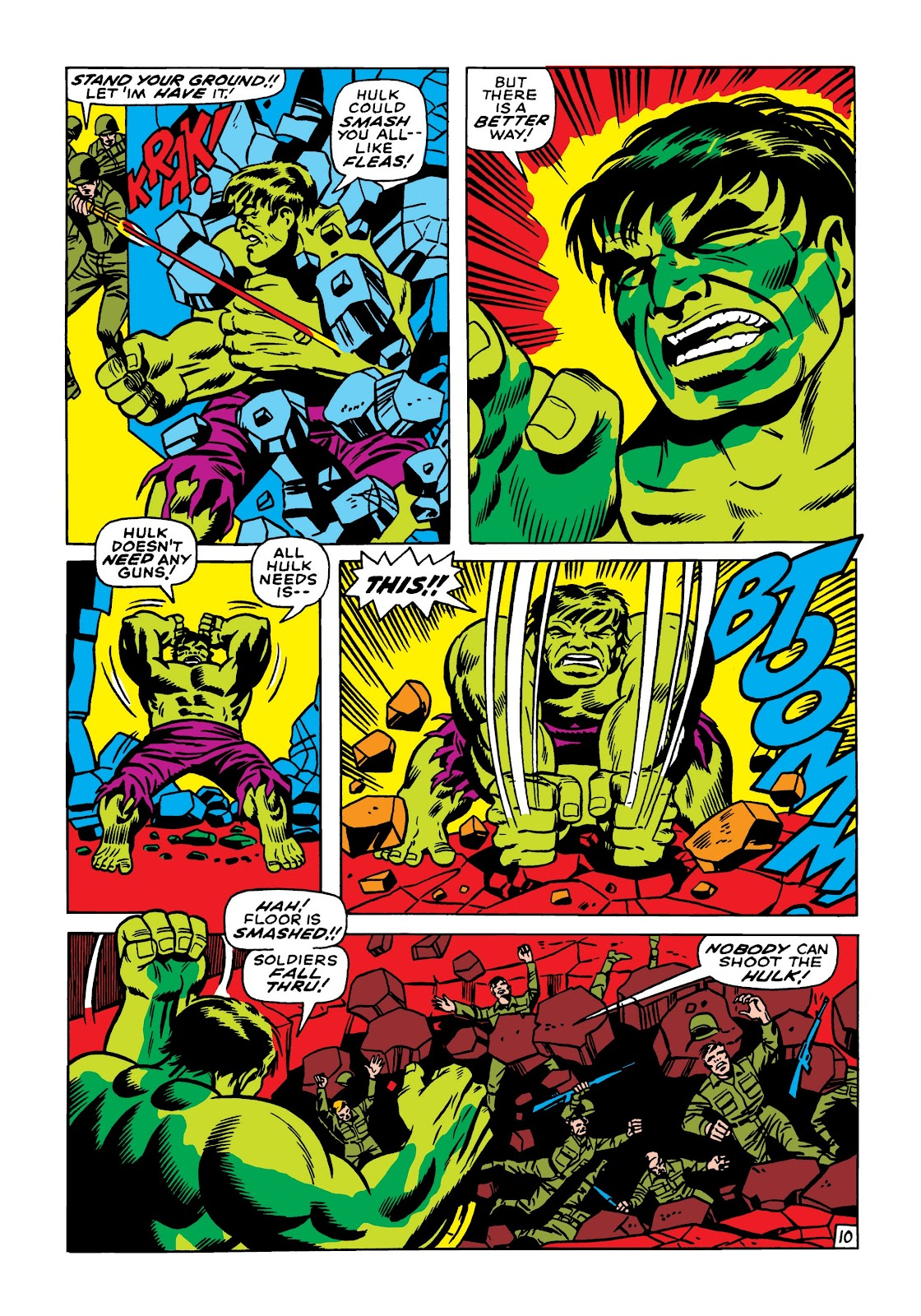 Read online Marvel Masterworks: The Incredible Hulk comic -  Issue # TPB 5 (Part 1) - 100