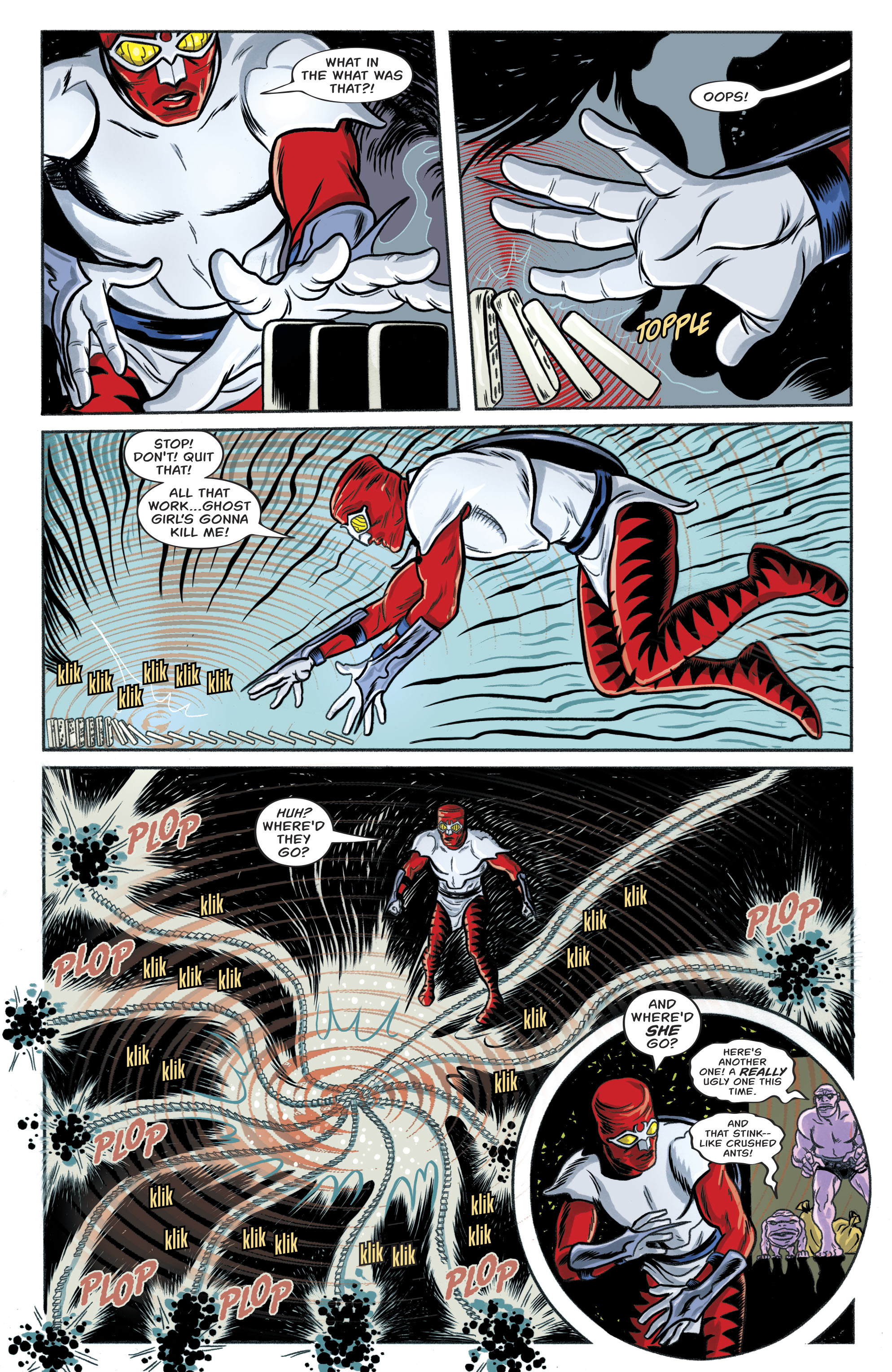 Read online Bug! The Adventures of Forager comic -  Issue #1 - 15