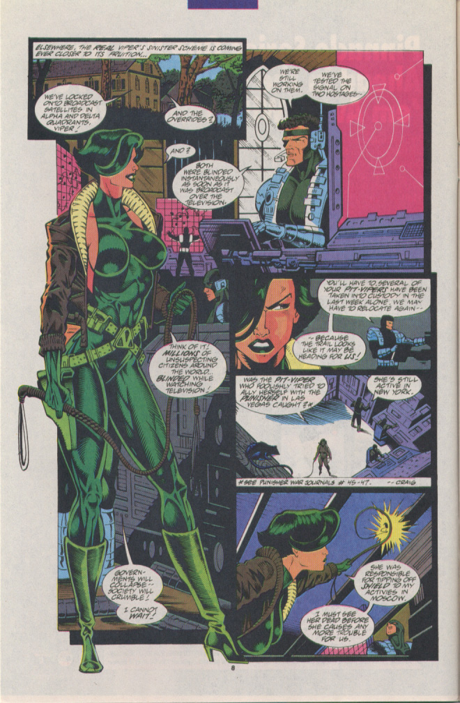 Read online Silver Sable and the Wild Pack comic -  Issue #15 - 7
