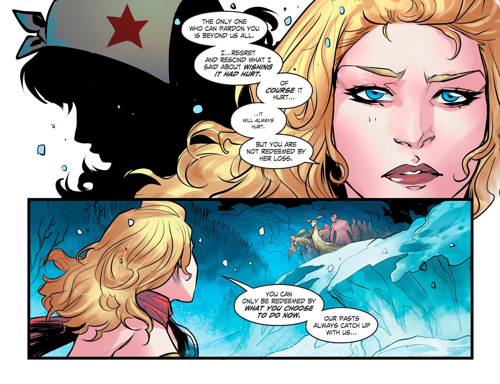 Read online DC Comics: Bombshells comic -  Issue #95 - 11
