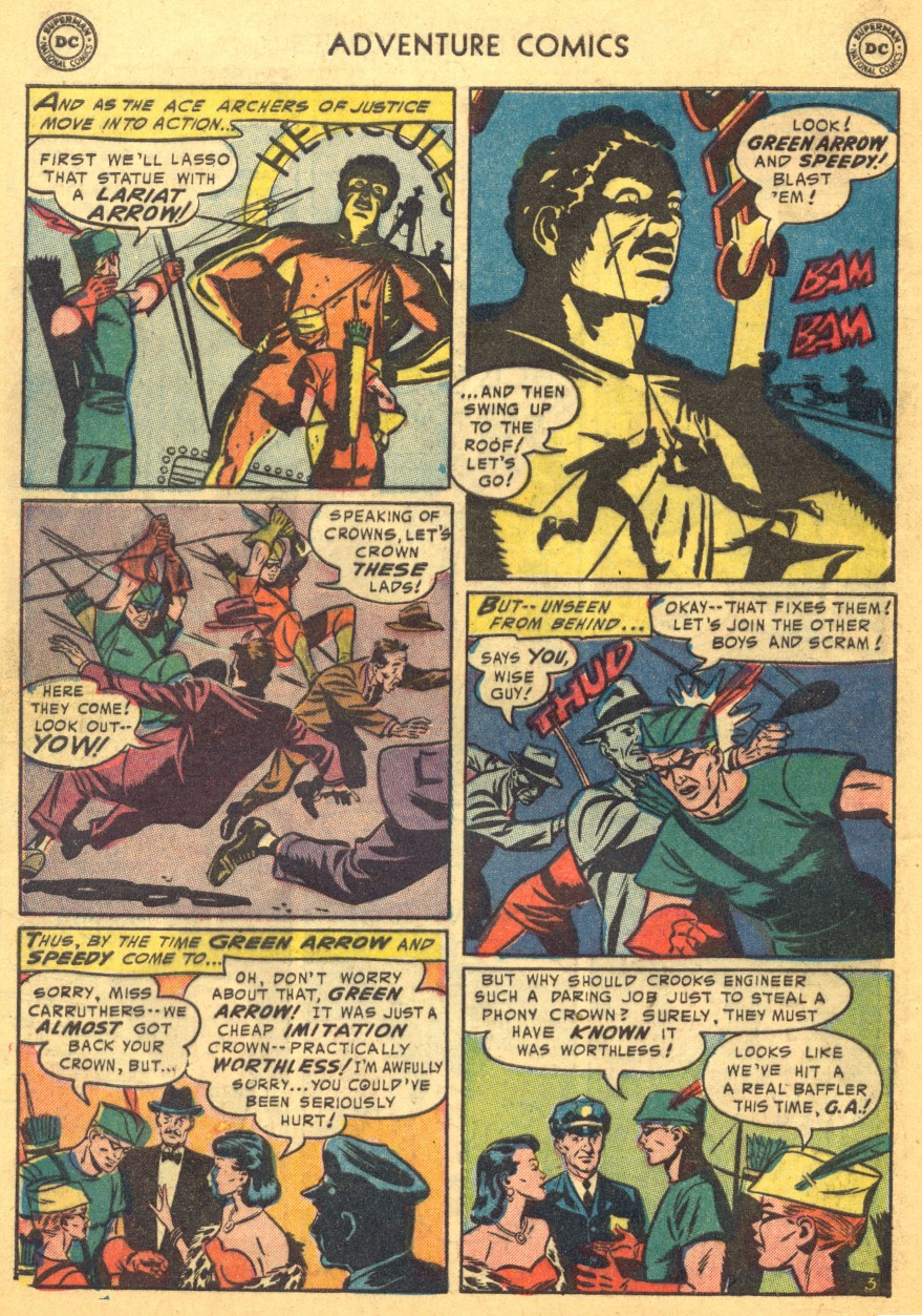 Read online Adventure Comics (1938) comic -  Issue #203 - 36