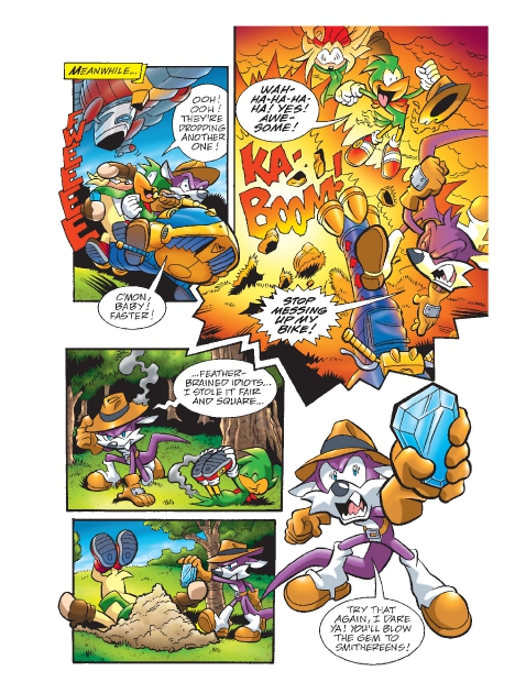 Read online Sonic Comics Spectacular: Speed of Sound comic -  Issue # Full - 177