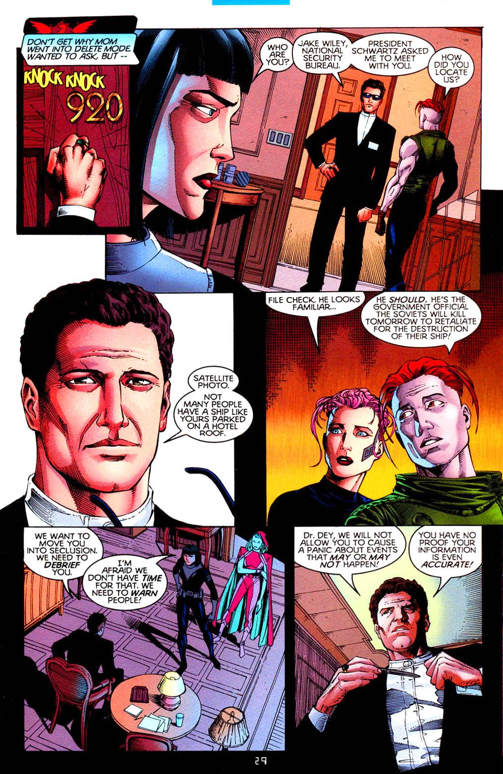 Read online Tangent Comics/ Doom Patrol comic -  Issue # Full - 30