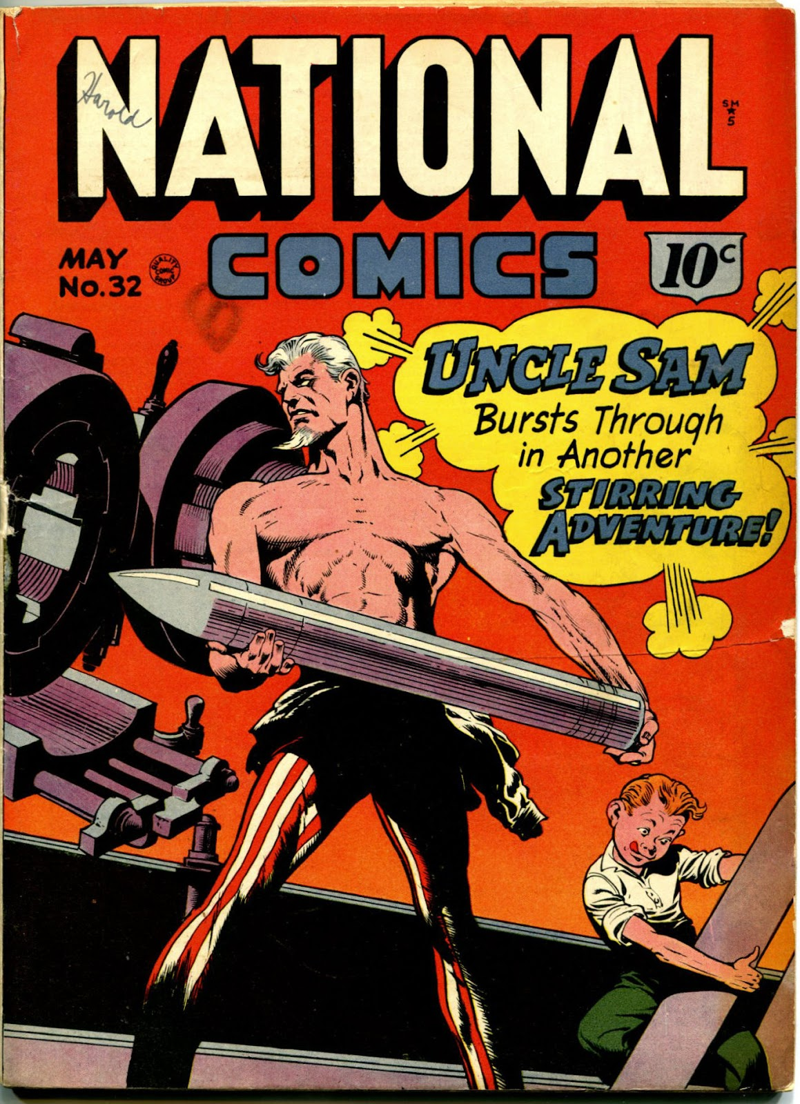 National Comics (1940) issue 32 - Page 1