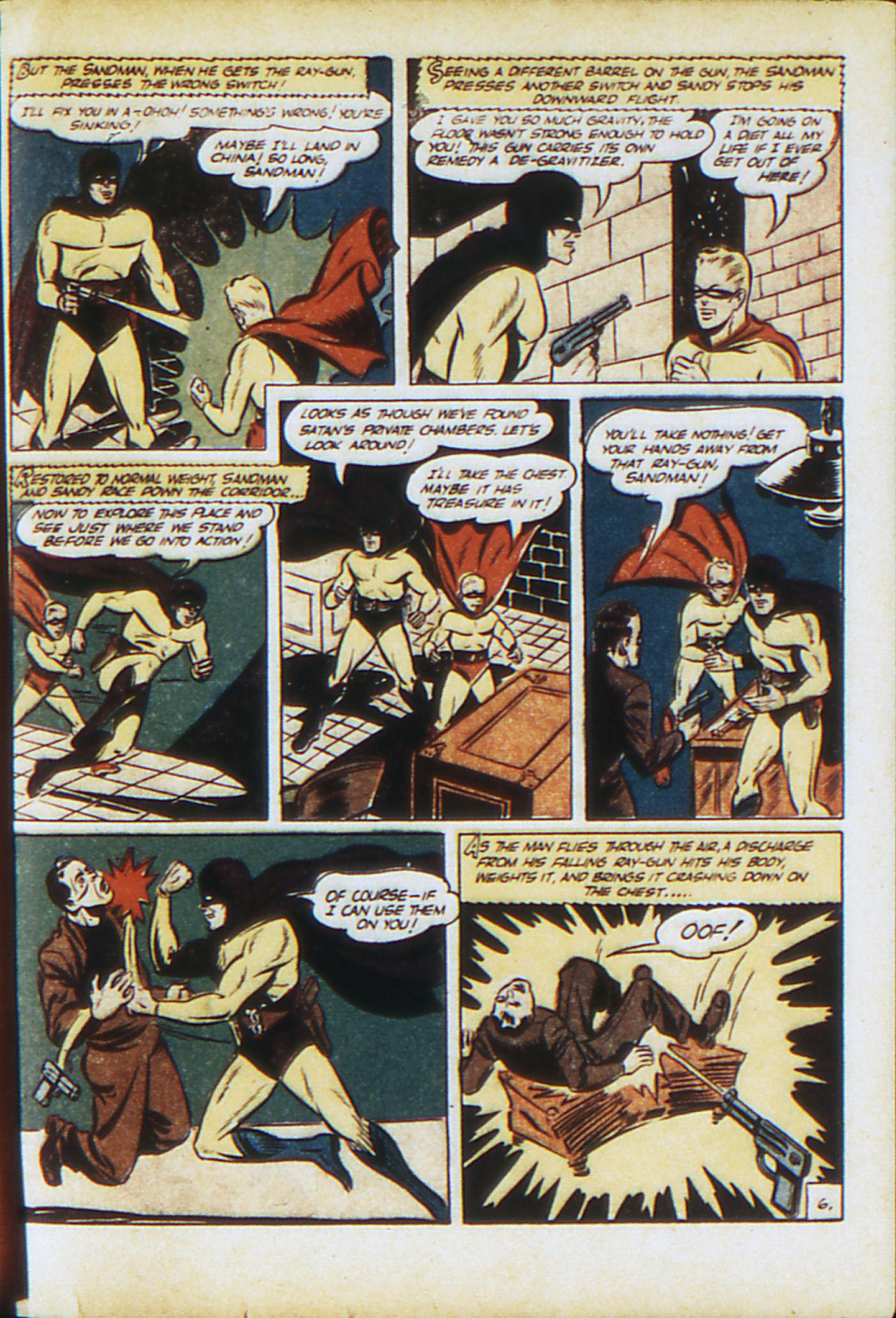 Read online Adventure Comics (1938) comic -  Issue #71 - 64