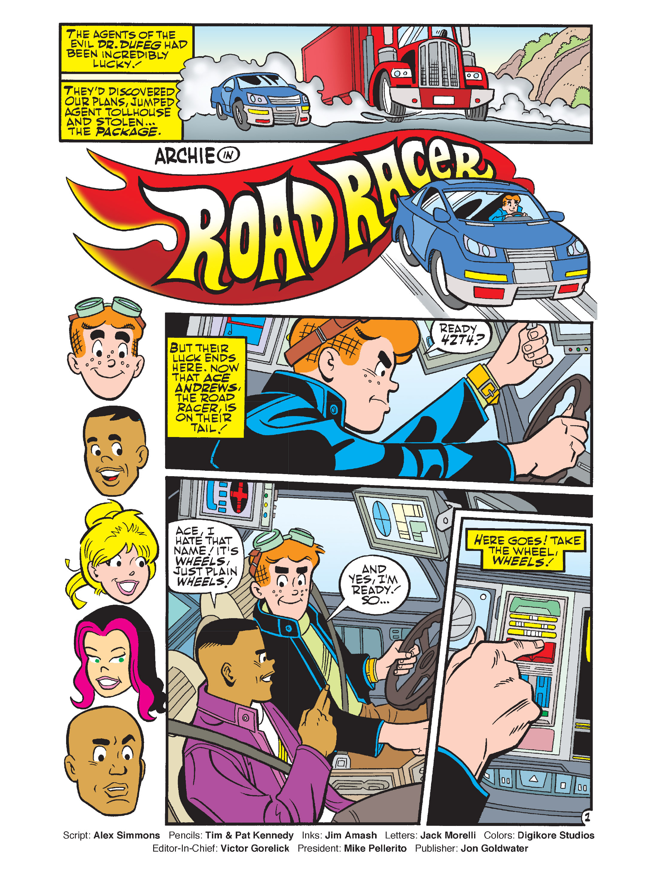 Read online Archie's Funhouse Double Digest comic -  Issue #12 - 2