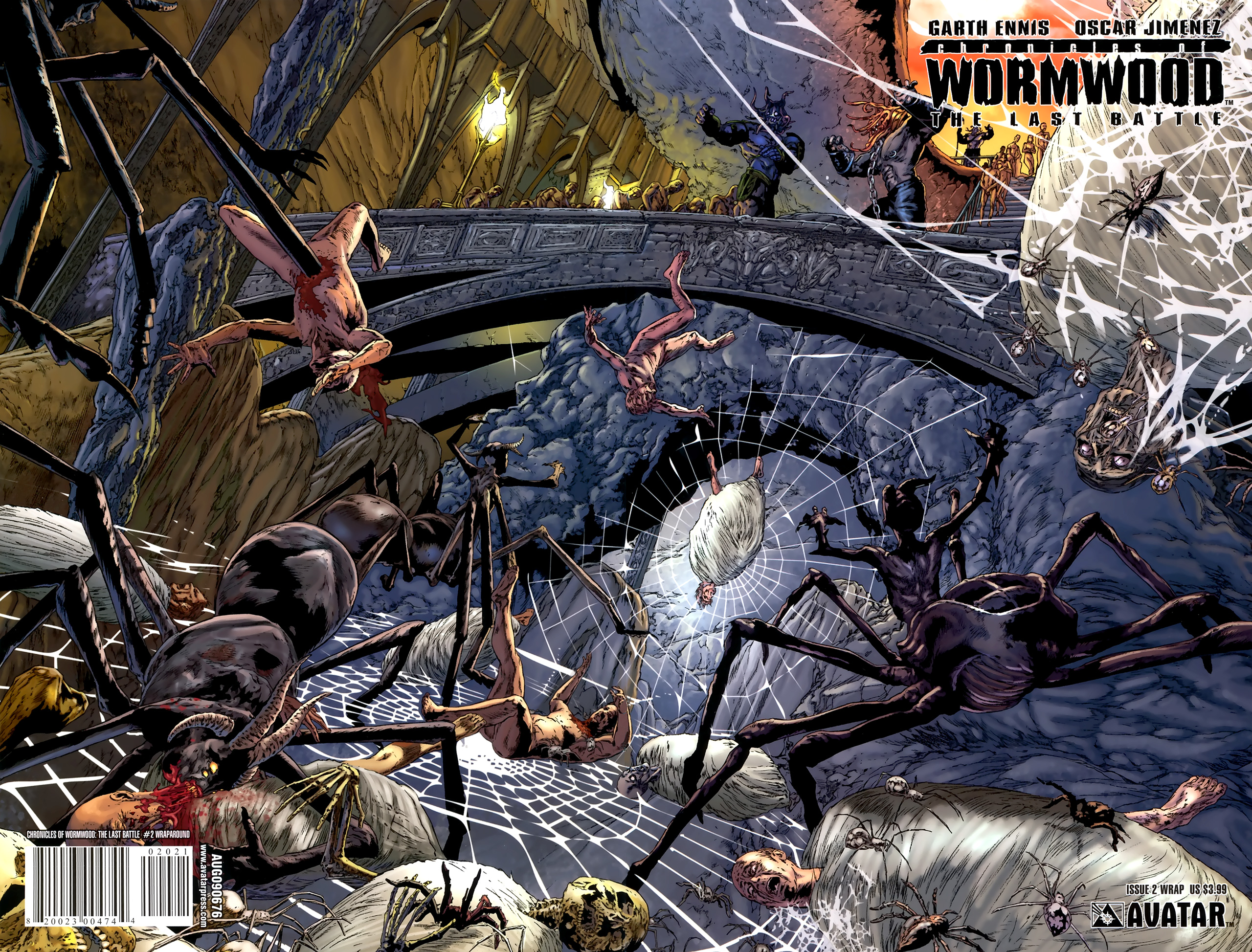 Read online Chronicles of Wormwood: The Last Battle comic -  Issue #2 - 2