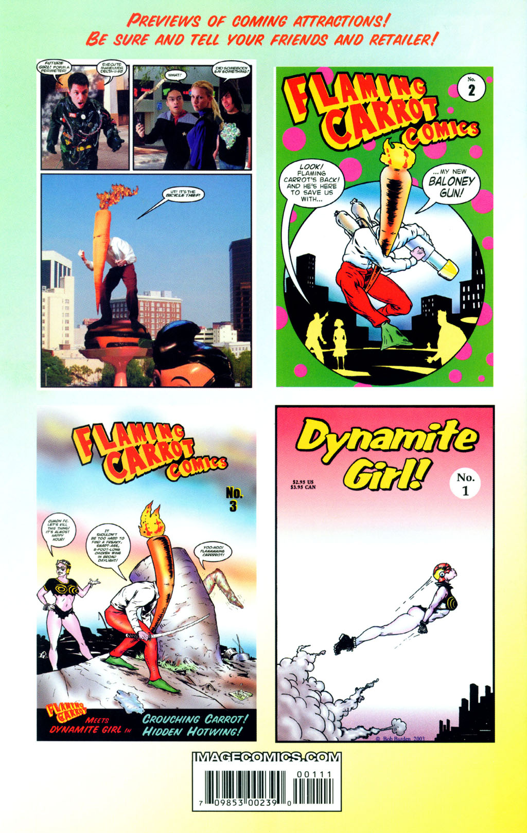 Read online Flaming Carrot Comics (2004) comic -  Issue #1 - 35