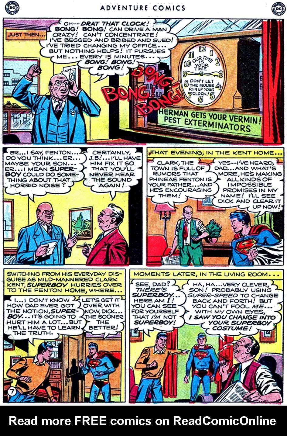 Read online Adventure Comics (1938) comic -  Issue #163 - 9