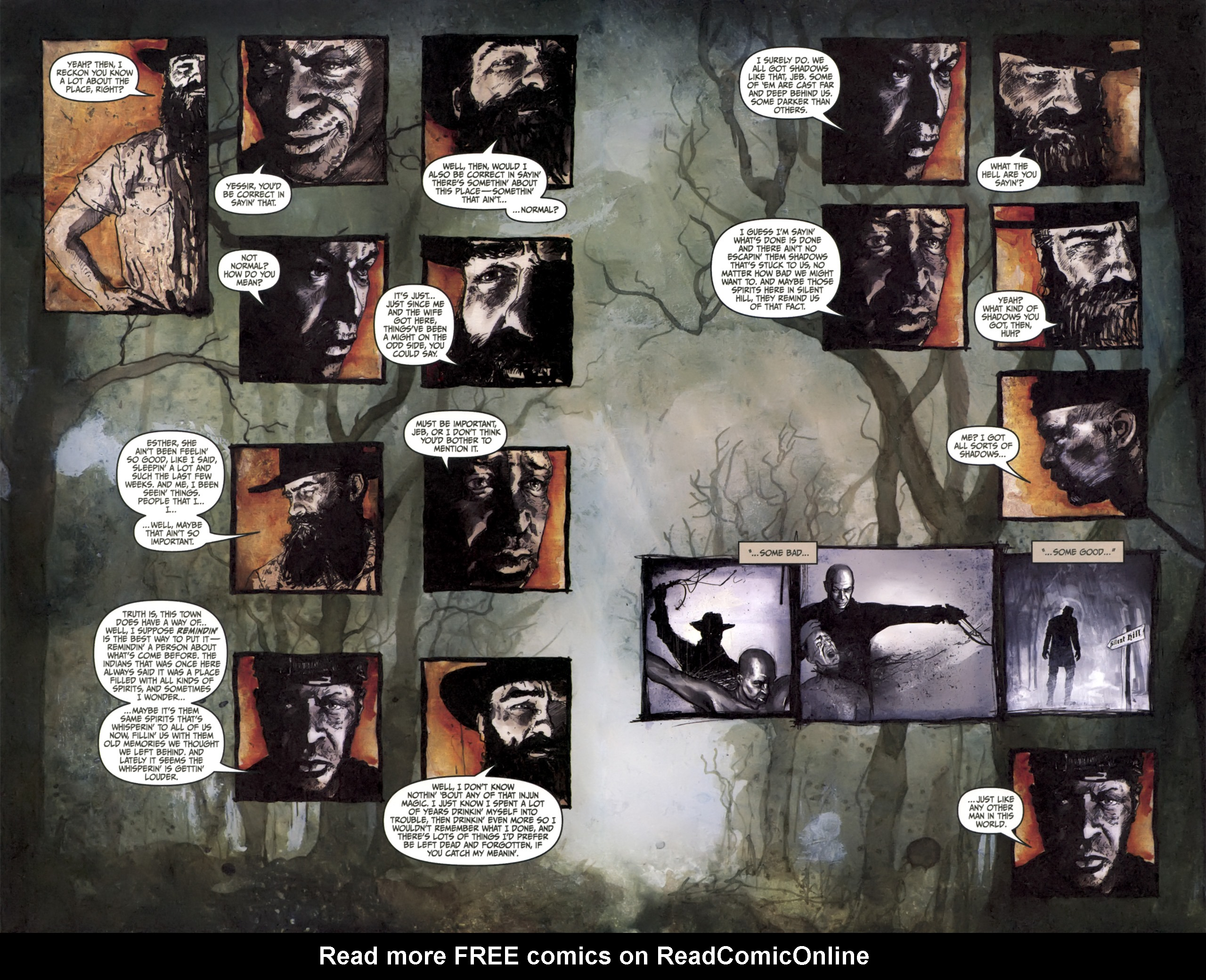 Read online Silent Hill: Past Life comic -  Issue #3 - 10