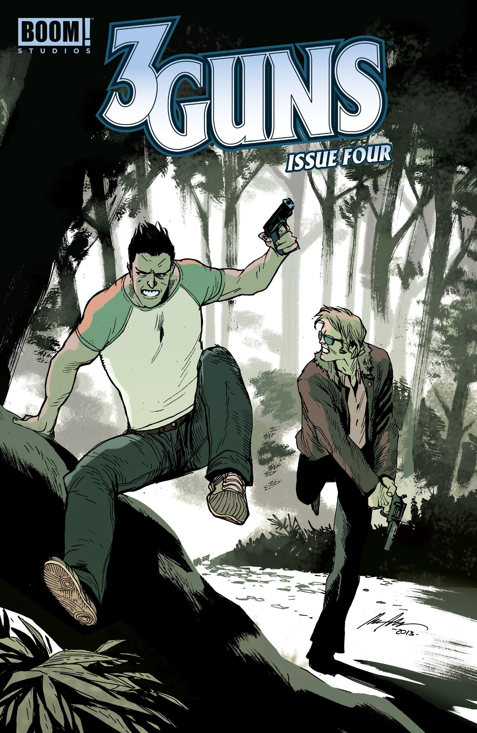 Read online 3 Guns comic -  Issue #4 - 1