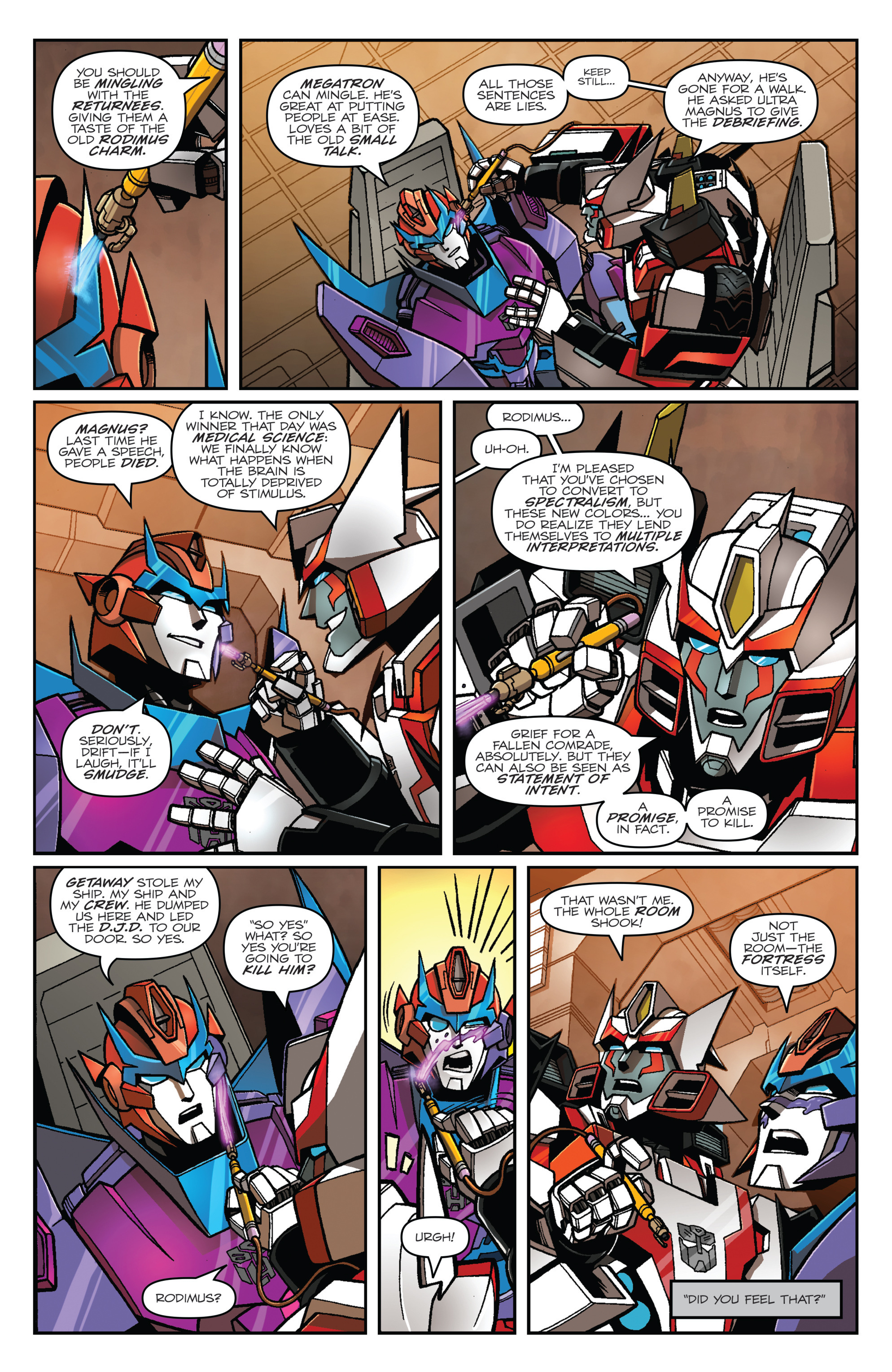 Read online Transformers: Lost Light comic -  Issue #1 - 13
