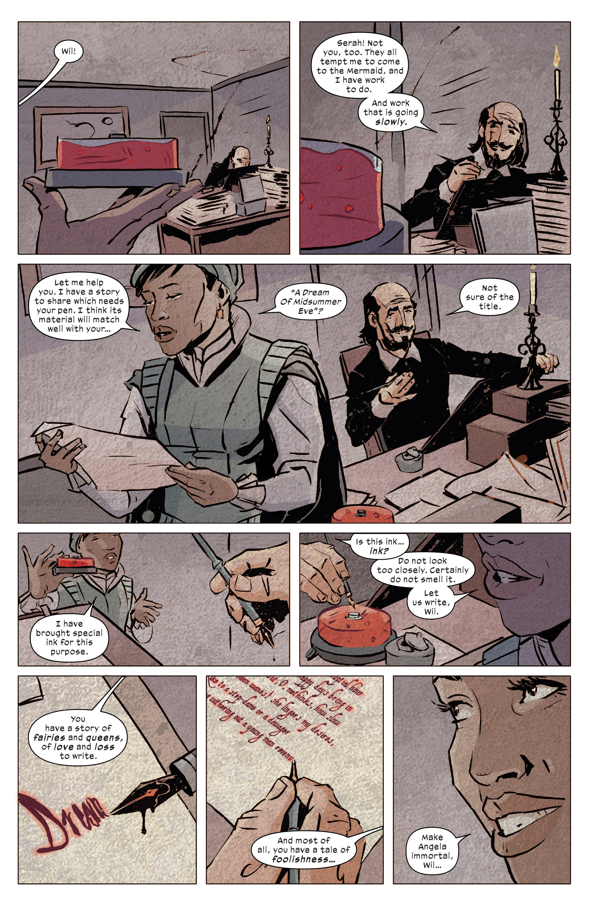 Read online 1602 Witch Hunter Angela comic -  Issue #4 - 18